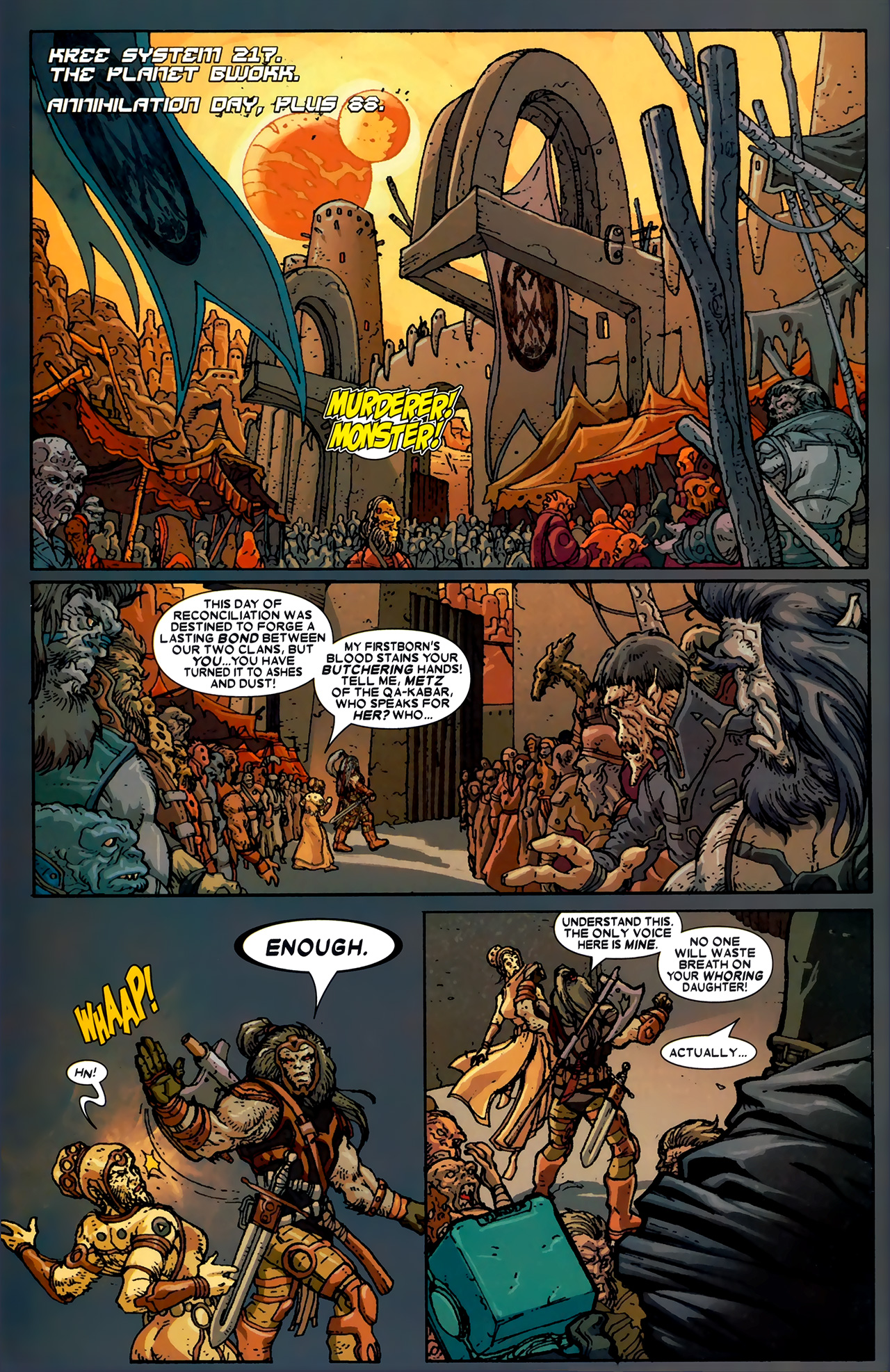 Read online Annihilation: Ronan comic -  Issue #1 - 3