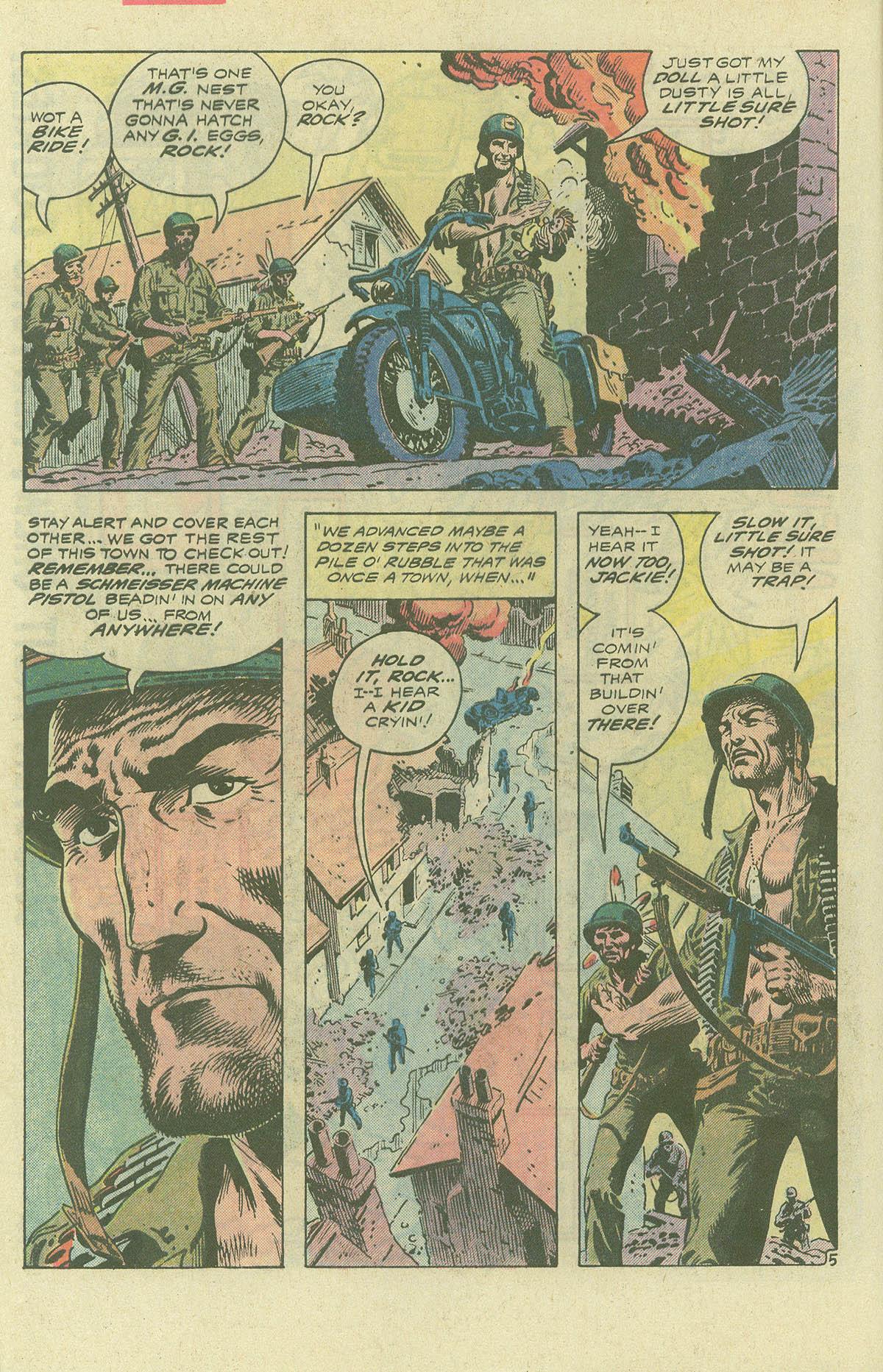 Read online Sgt. Rock comic -  Issue #396 - 7