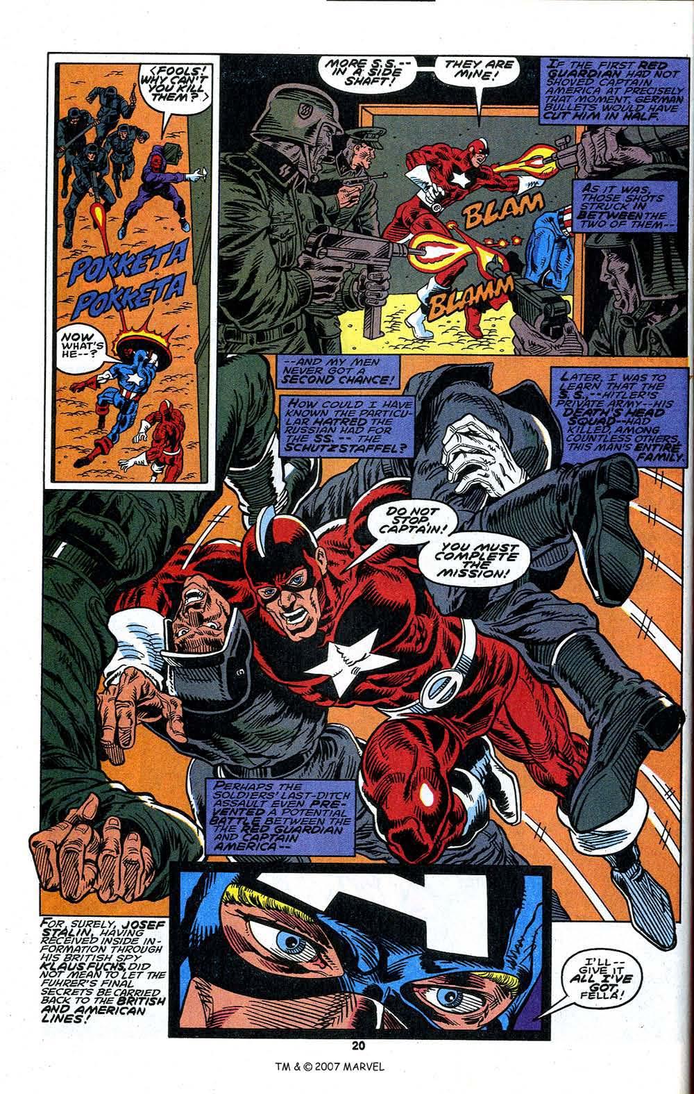 Read online Captain America (1968) comic -  Issue # _Annual 13 - 22