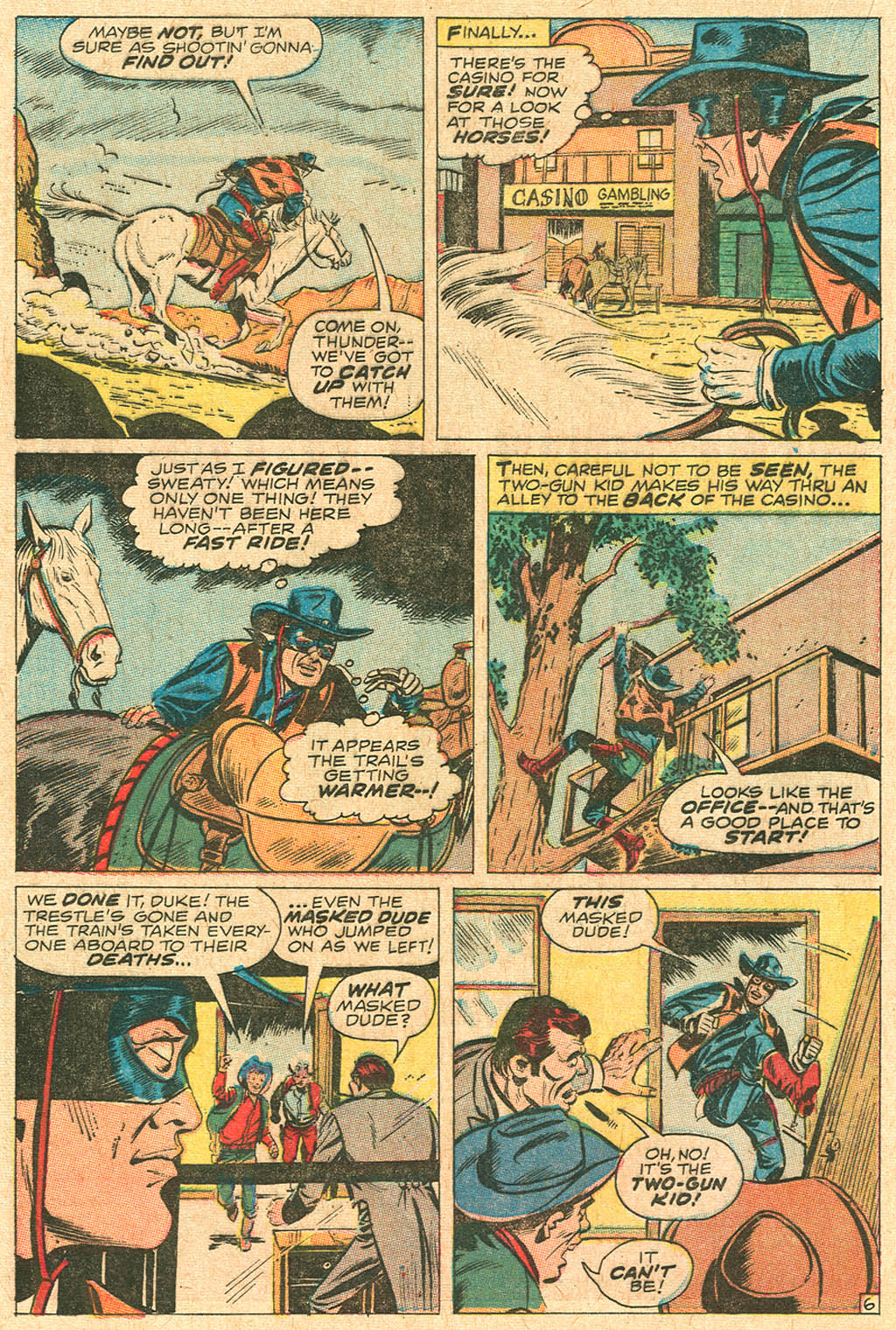 Read online Two-Gun Kid comic -  Issue #92 - 20