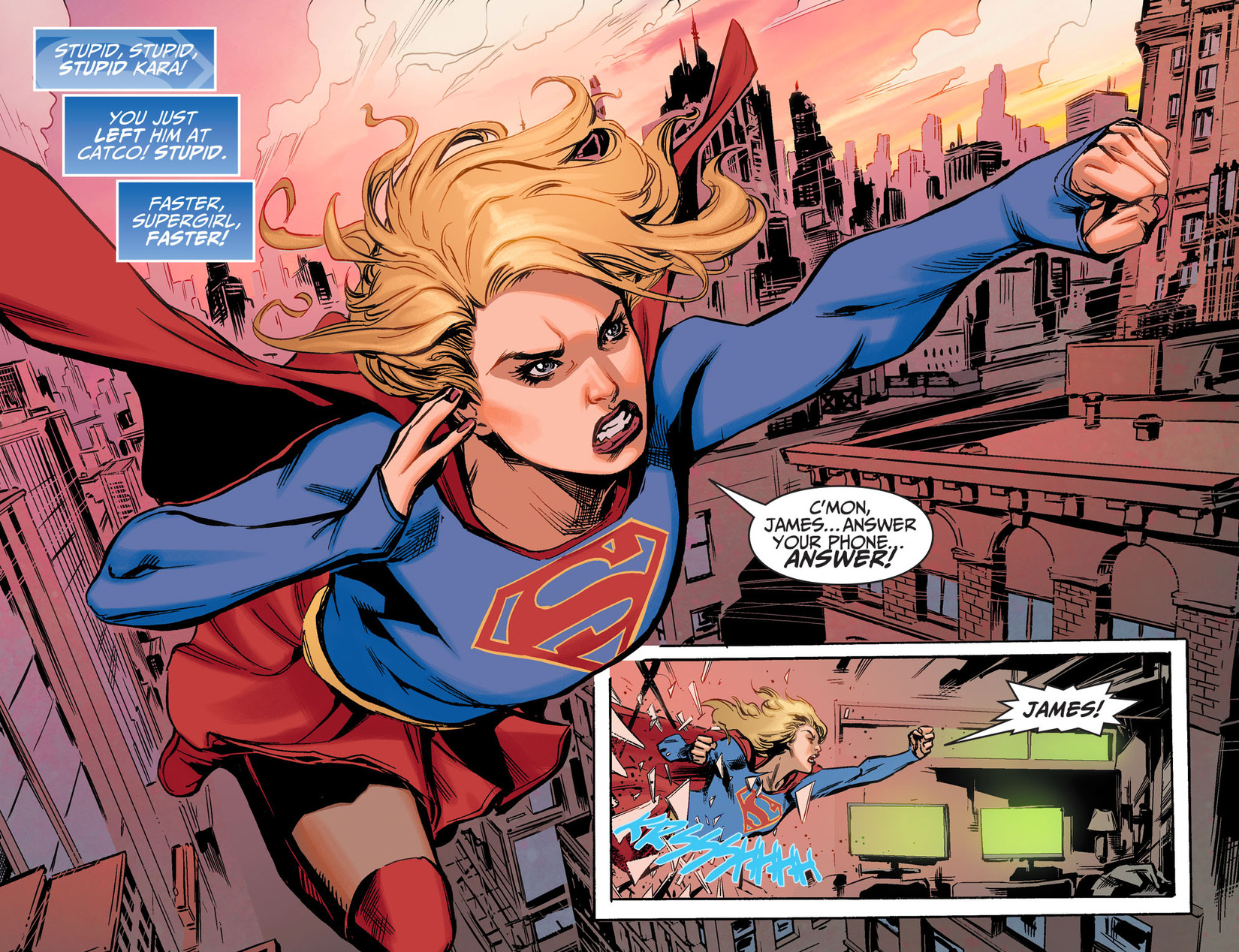 Read online Adventures of Supergirl comic -  Issue #5 - 10