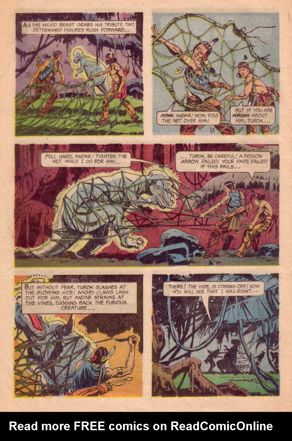 Read online Turok, Son of Stone comic -  Issue #41 - 16