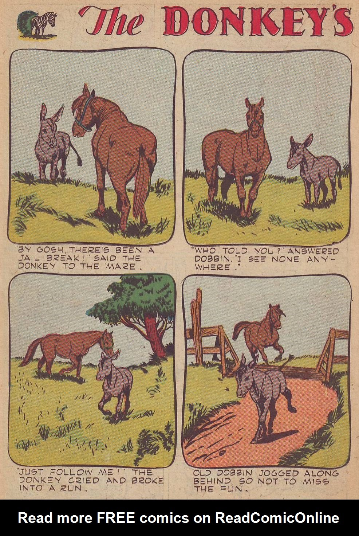 Read online Animal Comics comic -  Issue #23 - 26