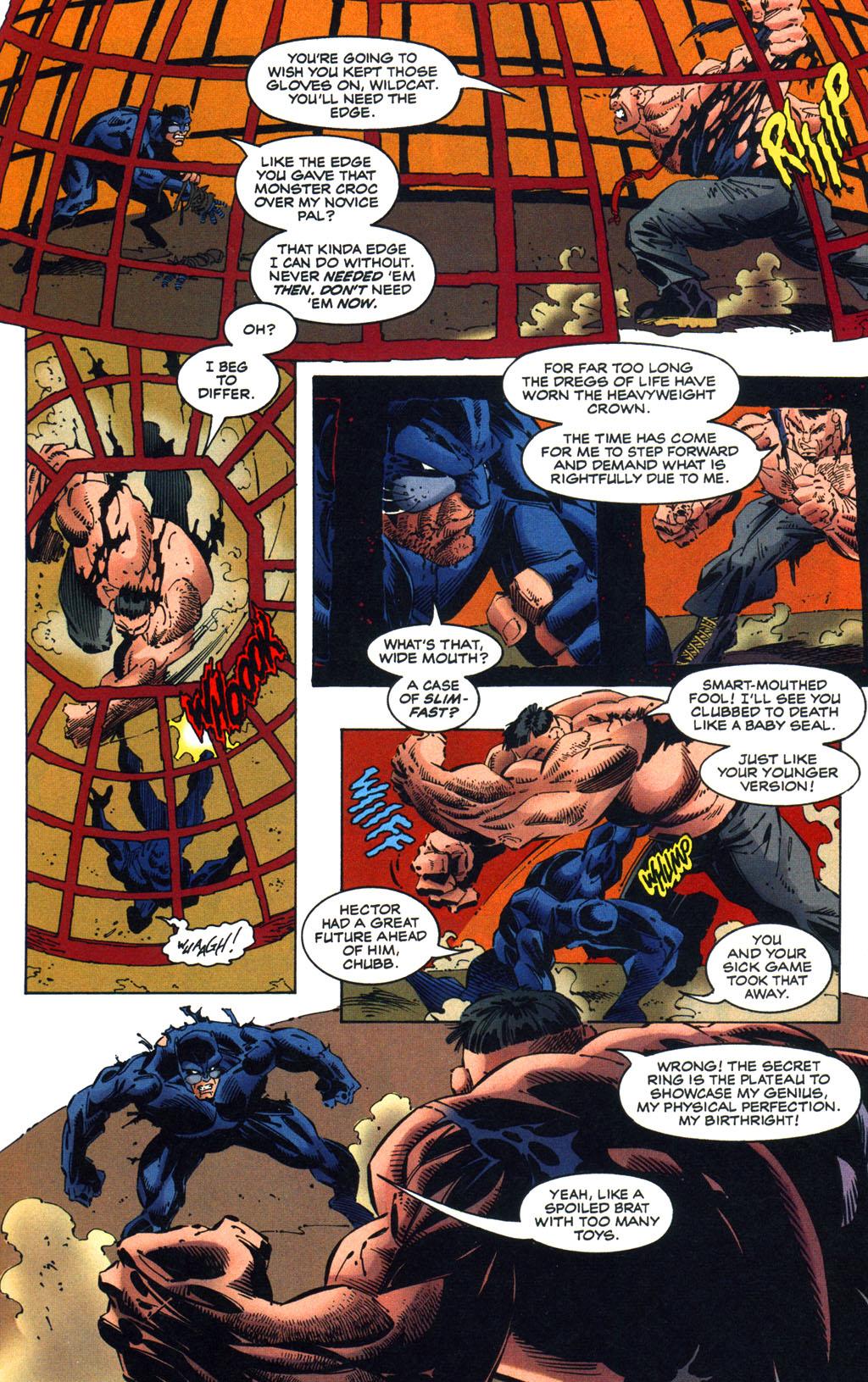 Read online Batman/Wildcat comic -  Issue #3 - 17