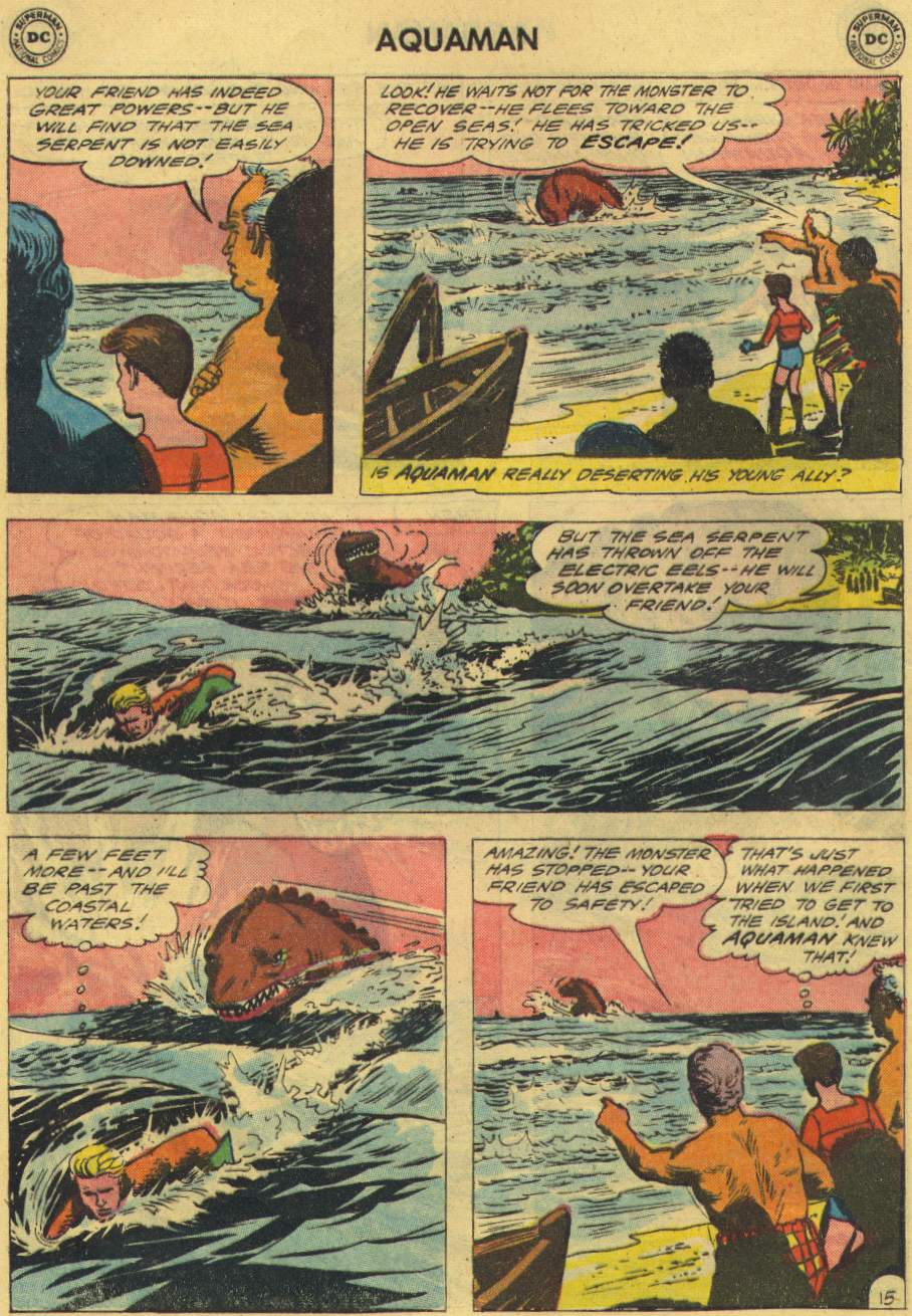 Read online Aquaman (1962) comic -  Issue #2 - 20