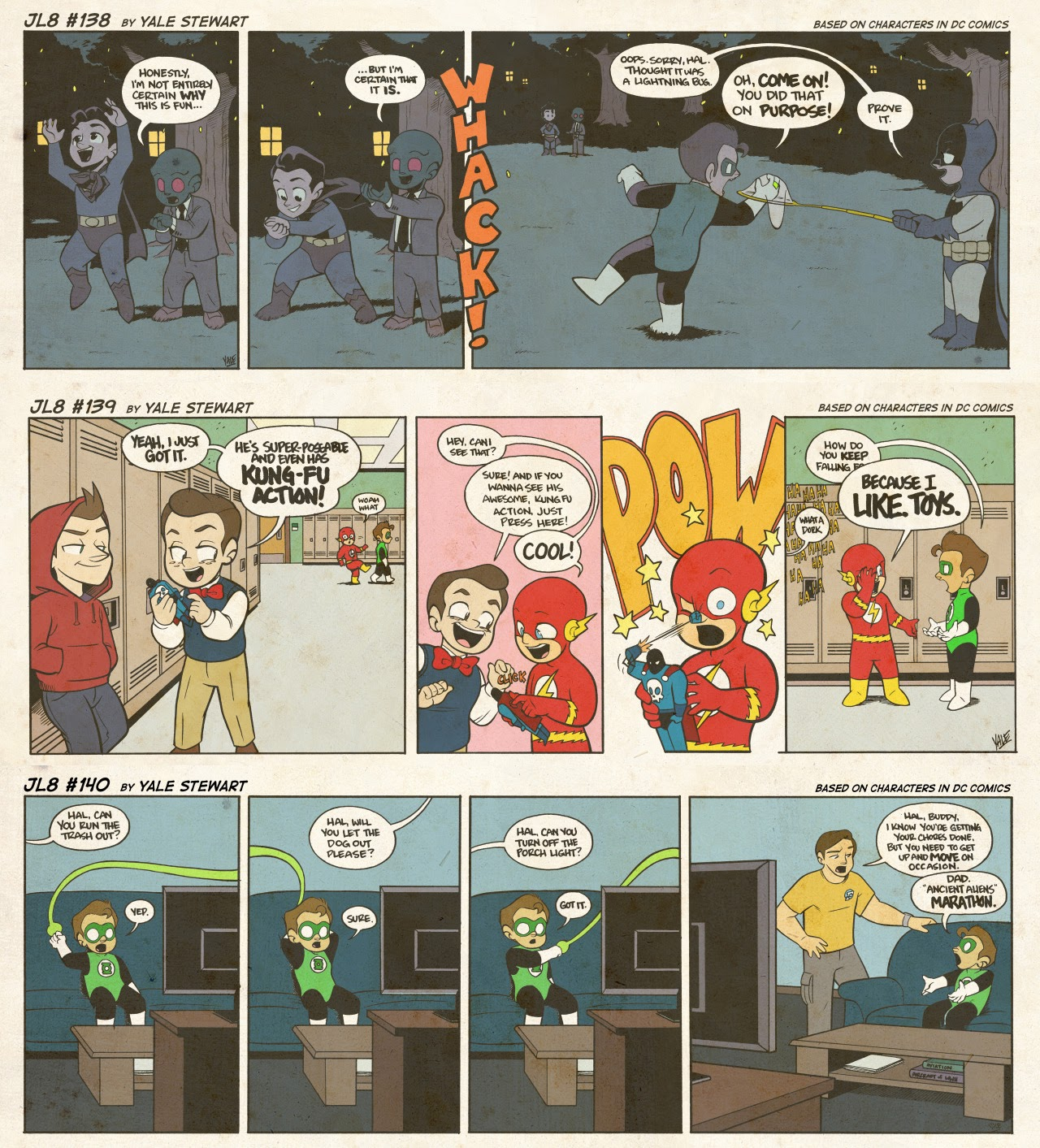 Read online JL8 – The Complete Collection comic -  Issue # TPB (Part 1) - 76