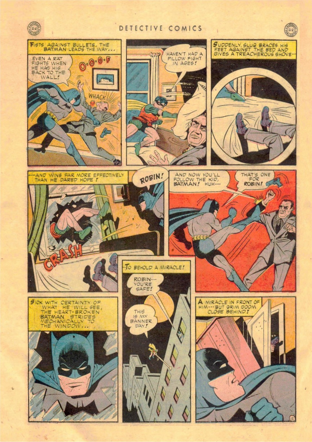 Read online Detective Comics (1937) comic -  Issue #92 - 14