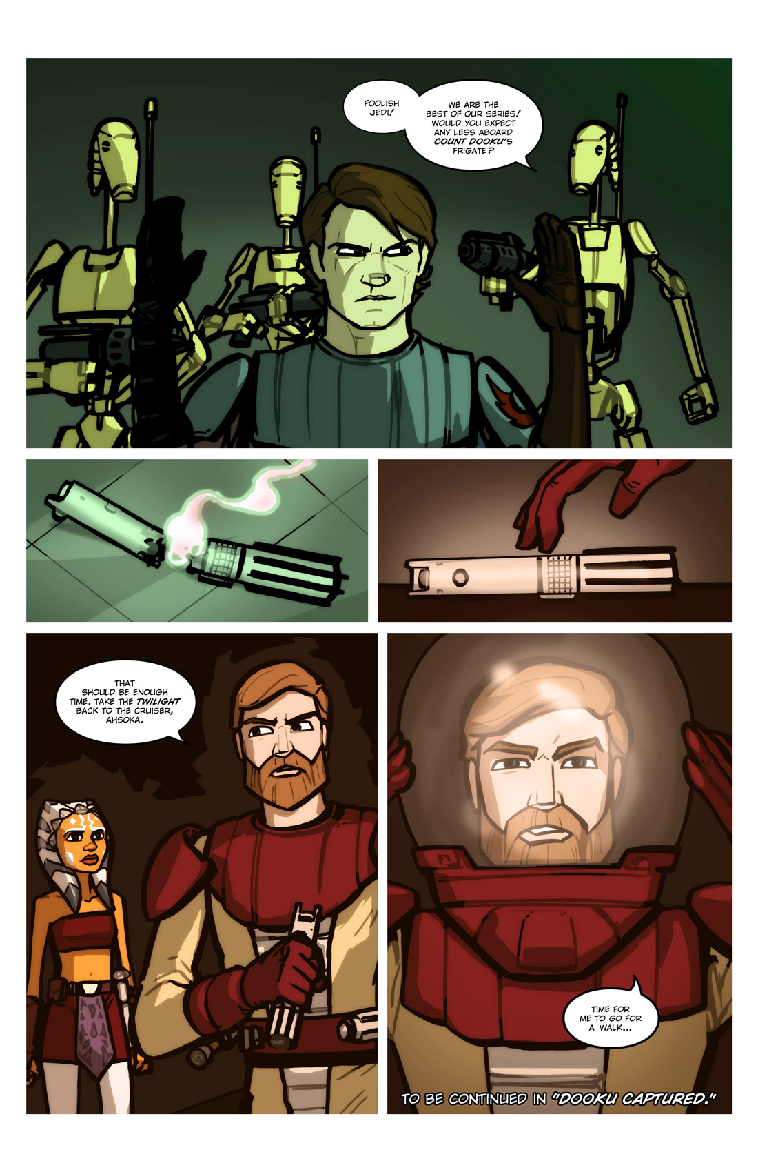 Read online Star Wars: Tales From The Clone Wars comic -  Issue # TPB - 80