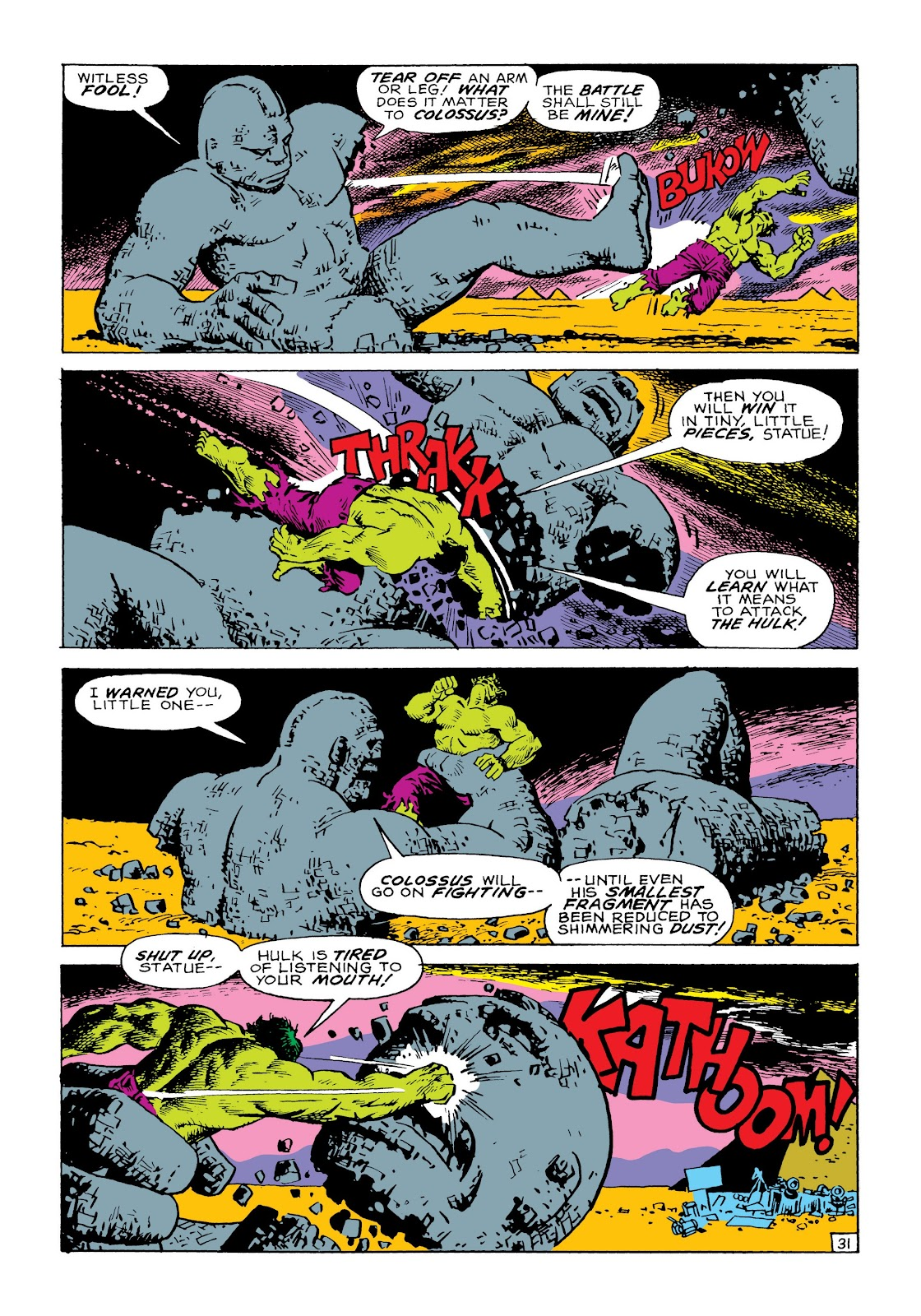 Read online Marvel Masterworks: The Incredible Hulk comic -  Issue # TPB 8 (Part 1) - 38