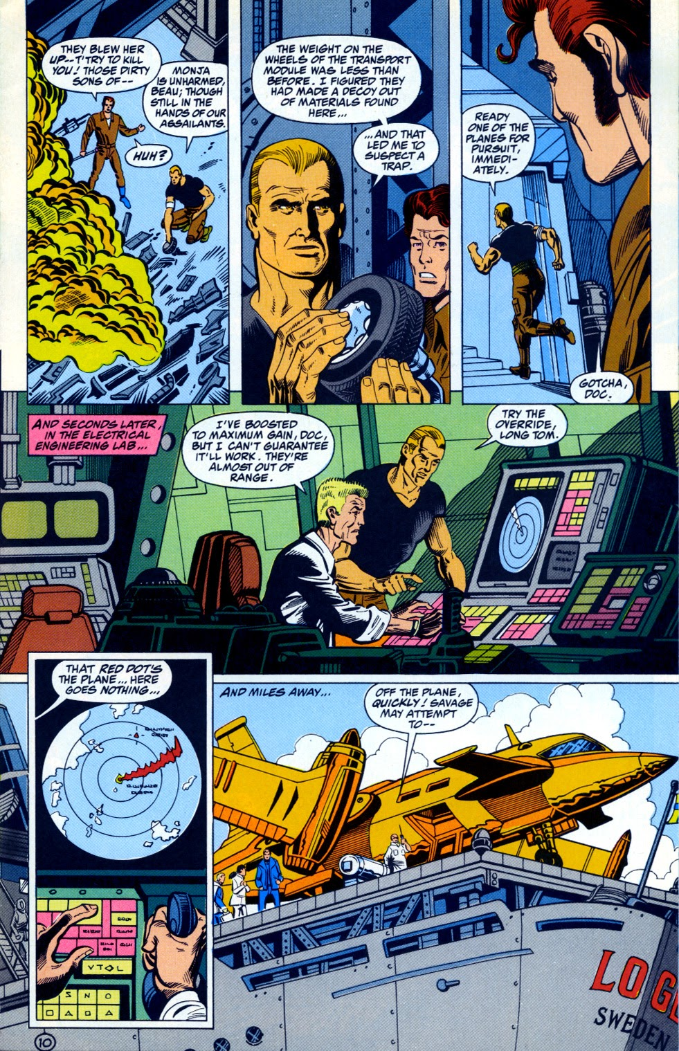 Doc Savage (1988) issue 12 - Page 12