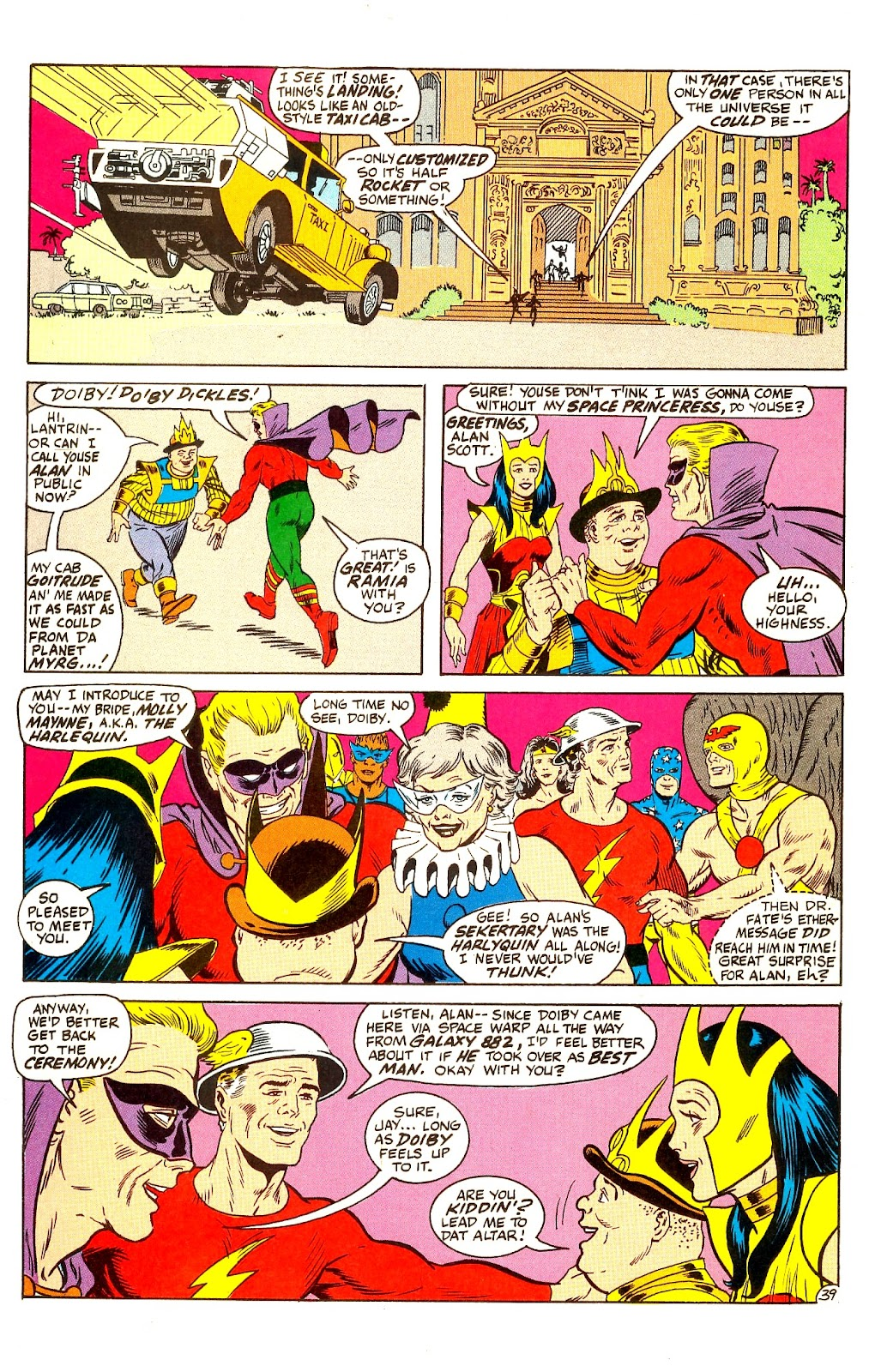 Infinity Inc. (1984) issue Annual 1 - Page 46