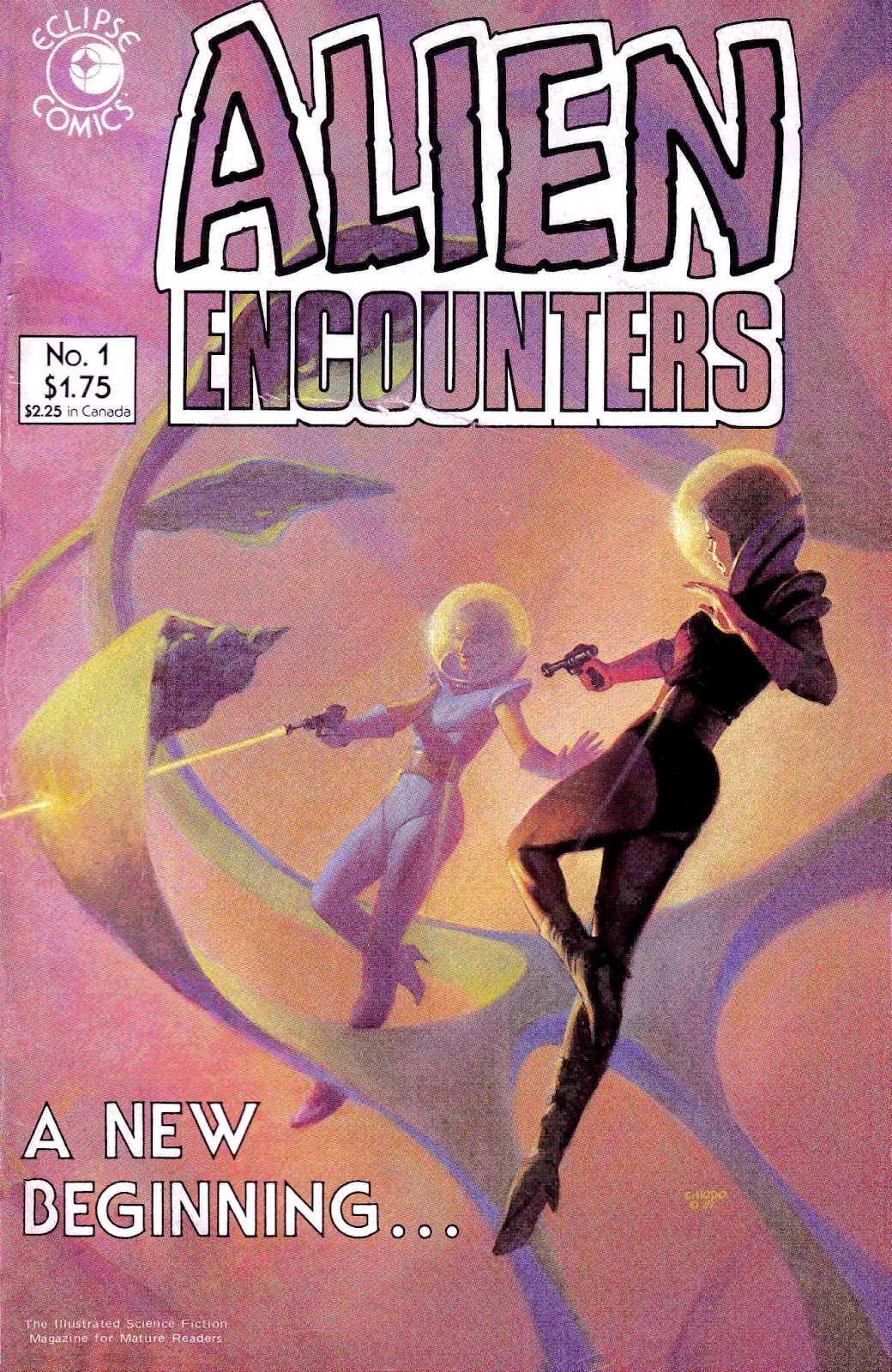 Alien Encounters 1 Page 1