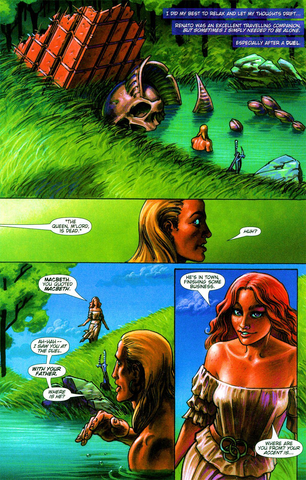 Read online Dawn: Three Tiers comic -  Issue #2 - 11