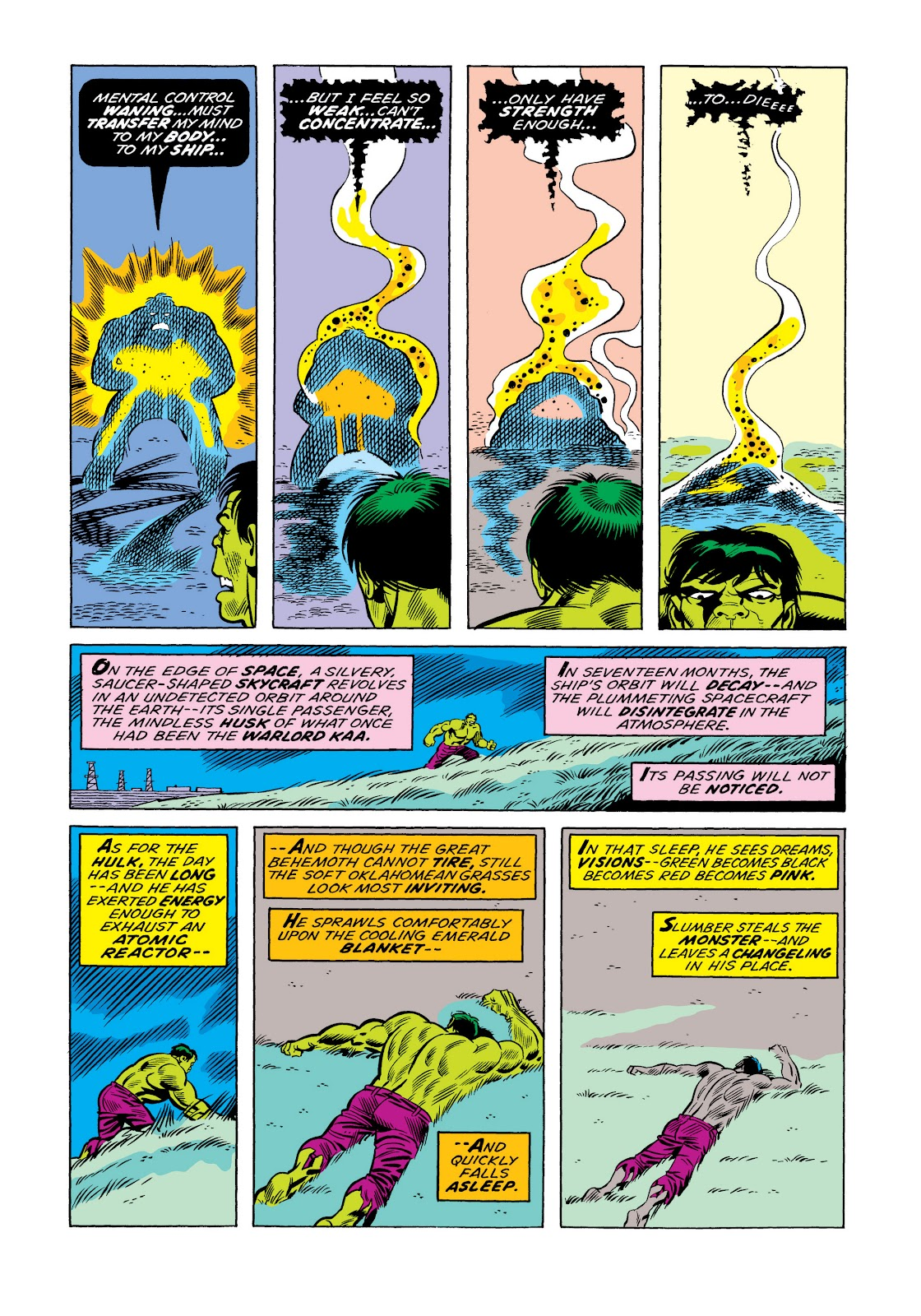 Read online Marvel Masterworks: The Incredible Hulk comic -  Issue # TPB 11 (Part 1) - 24