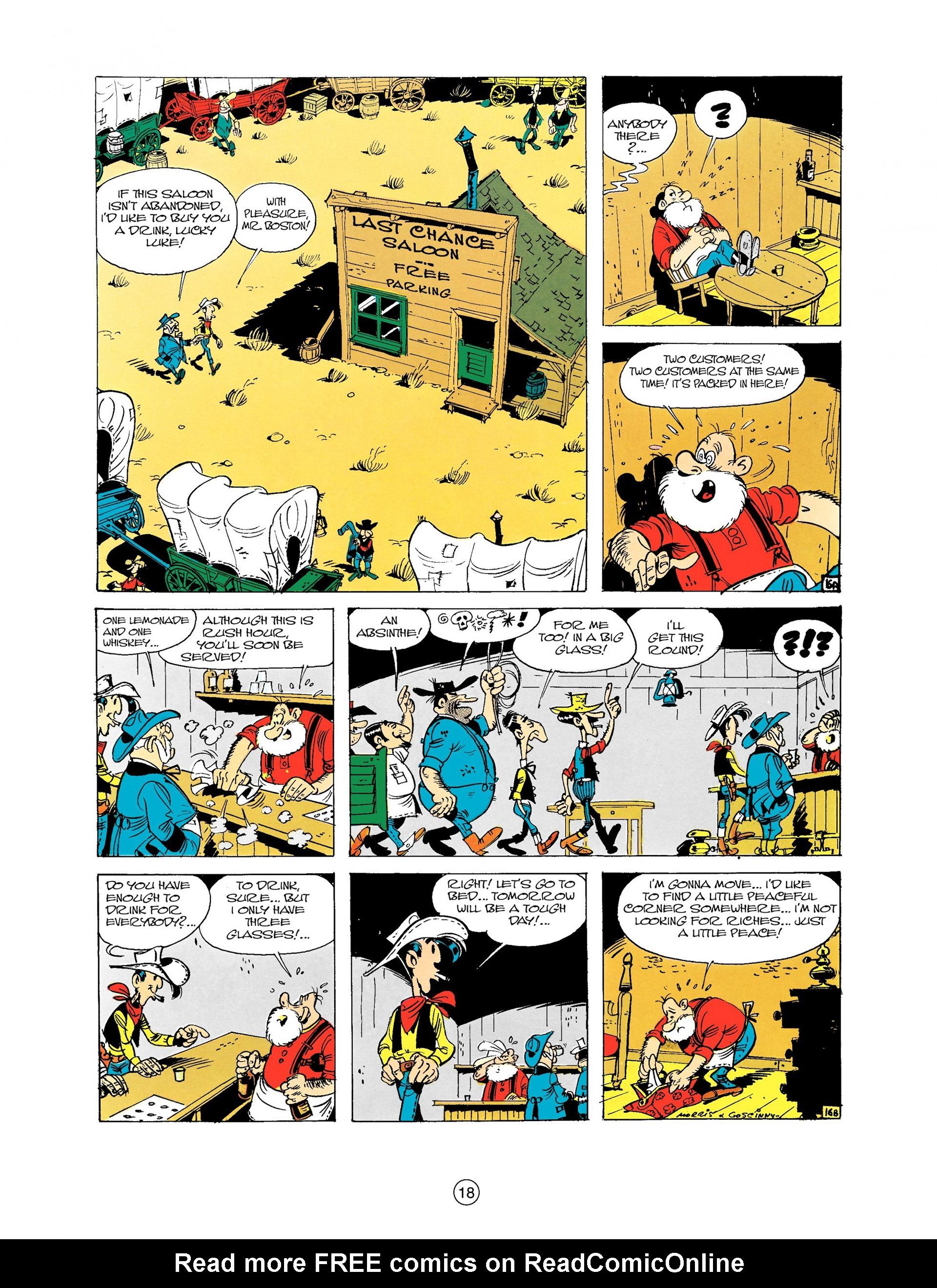 Read online A Lucky Luke Adventure comic -  Issue #9 - 18