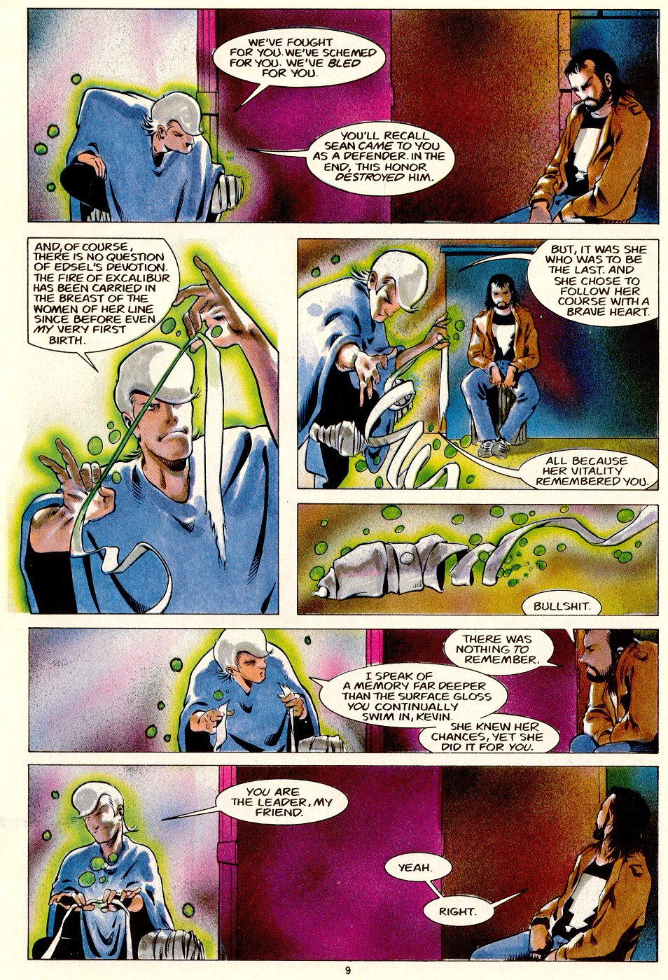 Read online Mage: The Hero Discovered comic -  Issue #14 - 11