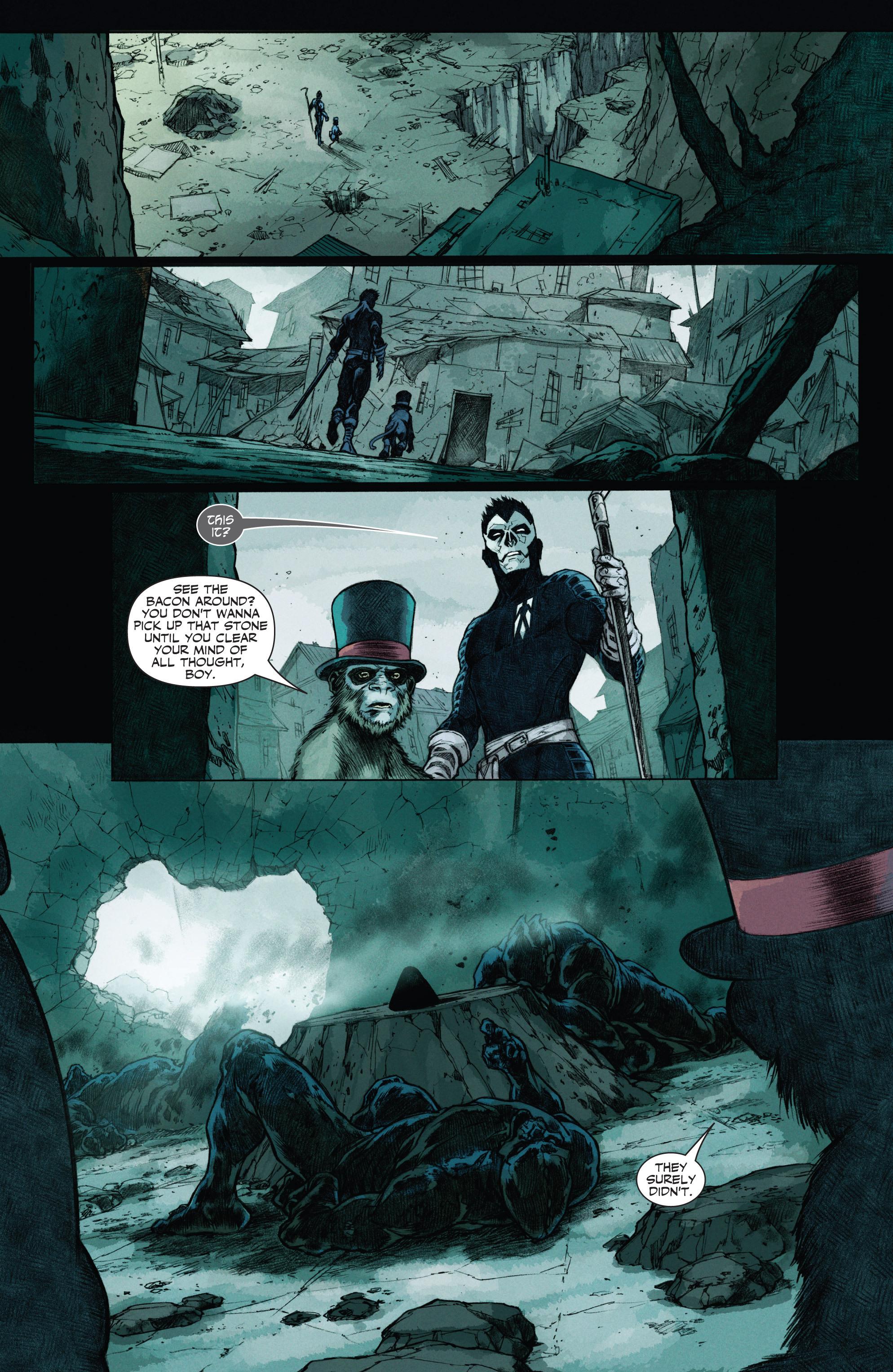 Read online Shadowman (2012) comic -  Issue #12 - 5
