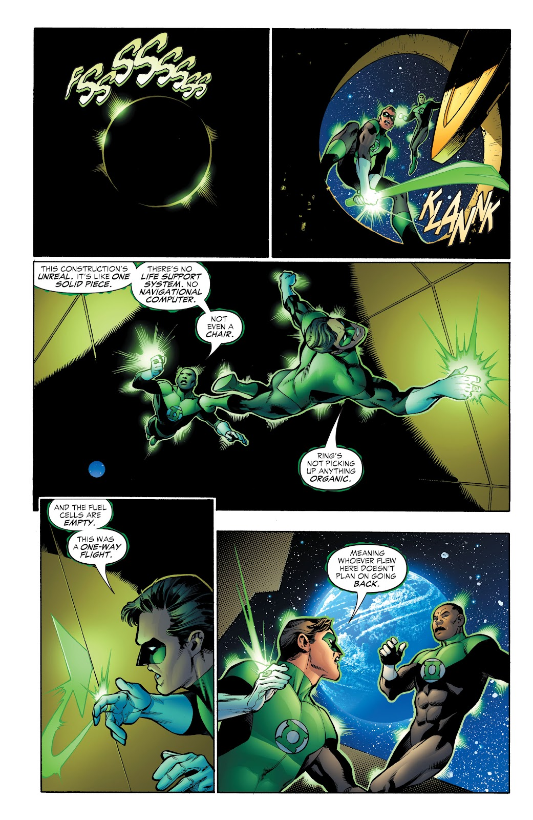 Read online Green Lantern by Geoff Johns comic -  Issue # TPB 1 (Part 4) - 11