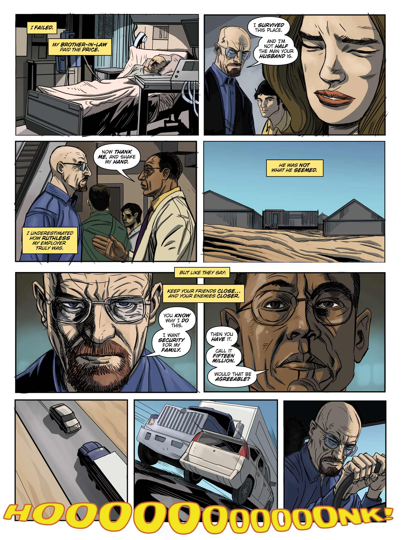 Read online Breaking Bad: All Bad Things comic -  Issue # Full - 11
