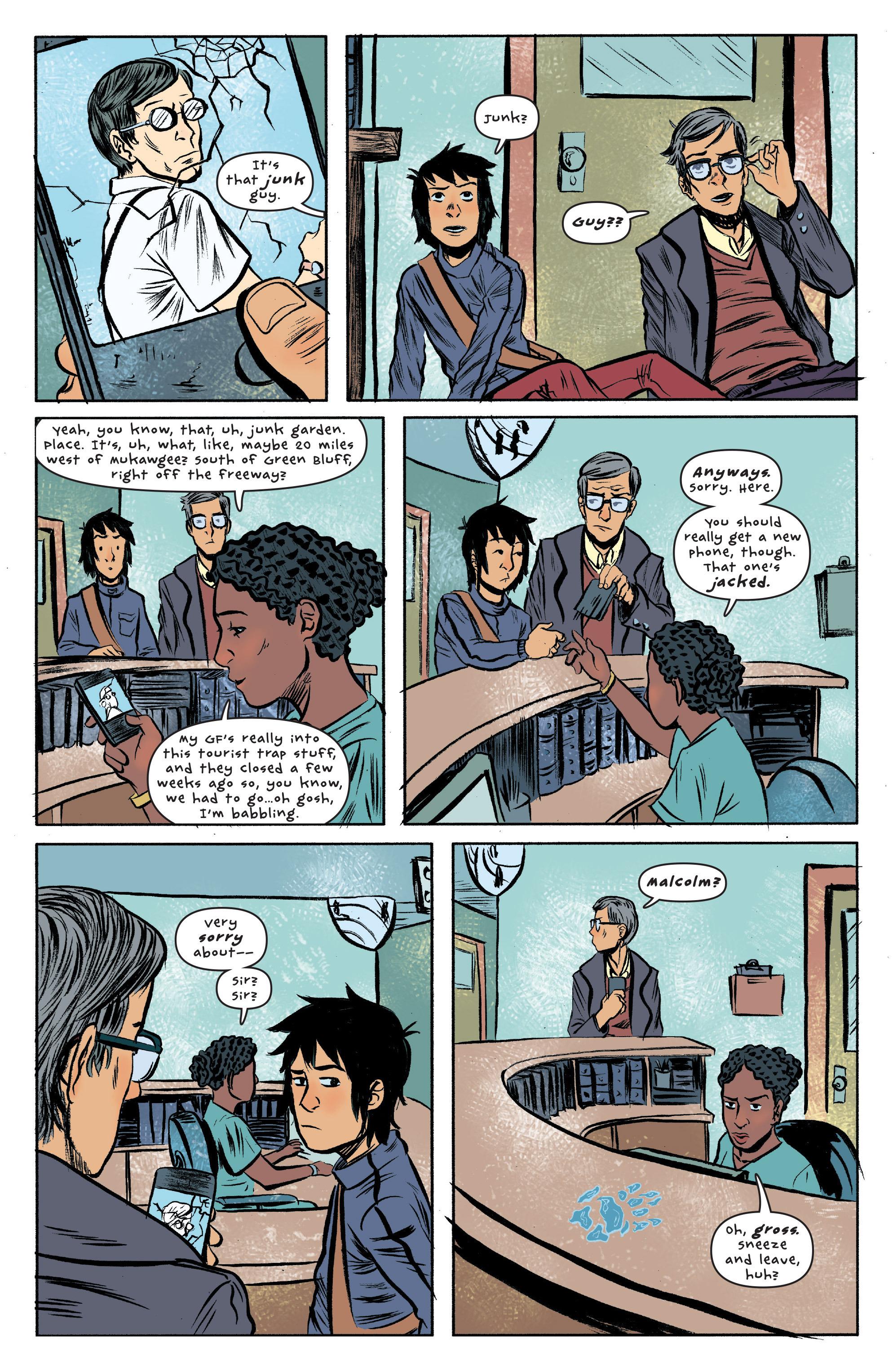 Read online UFOlogy comic -  Issue #2 - 16