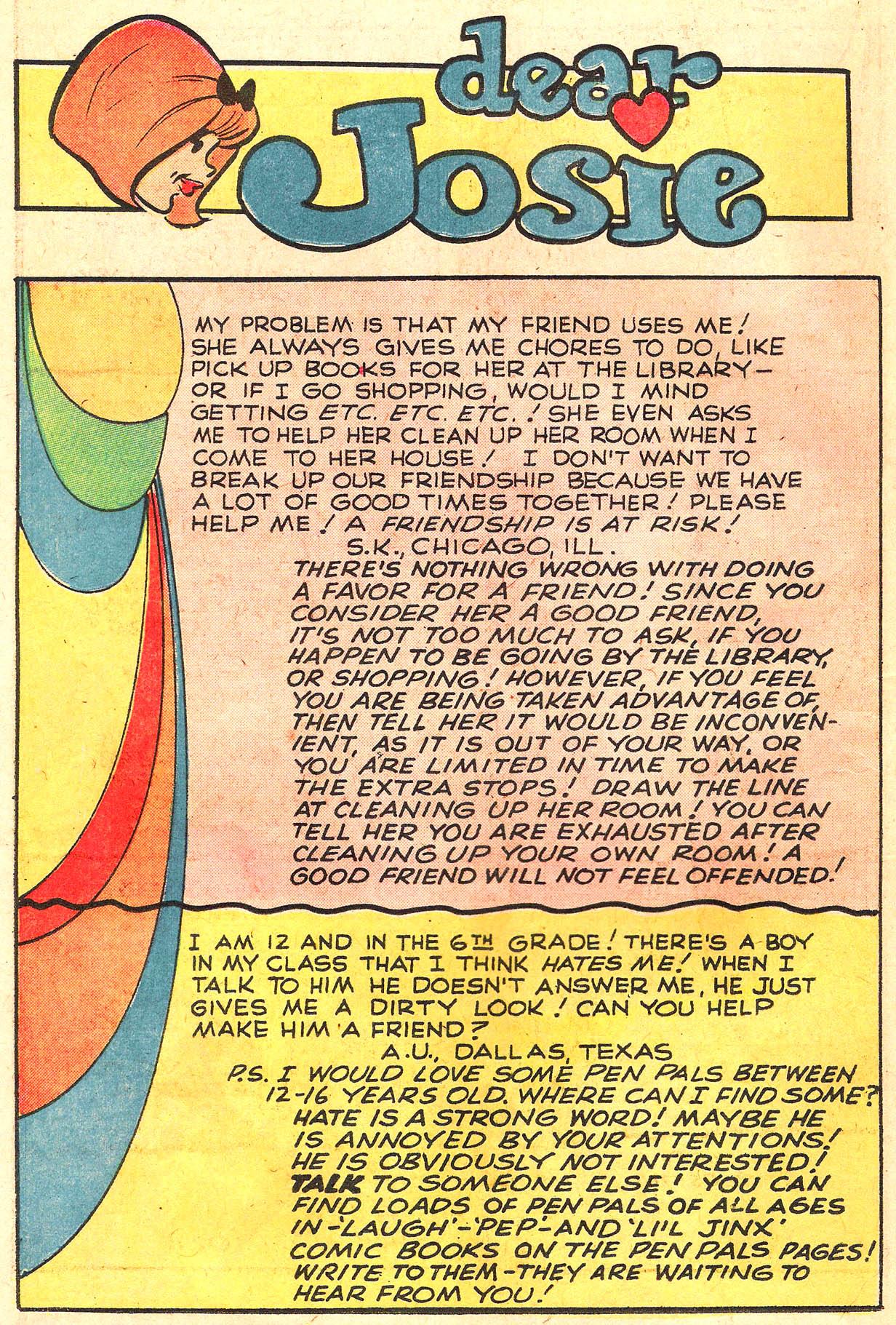 Read online She's Josie comic -  Issue #64 - 30