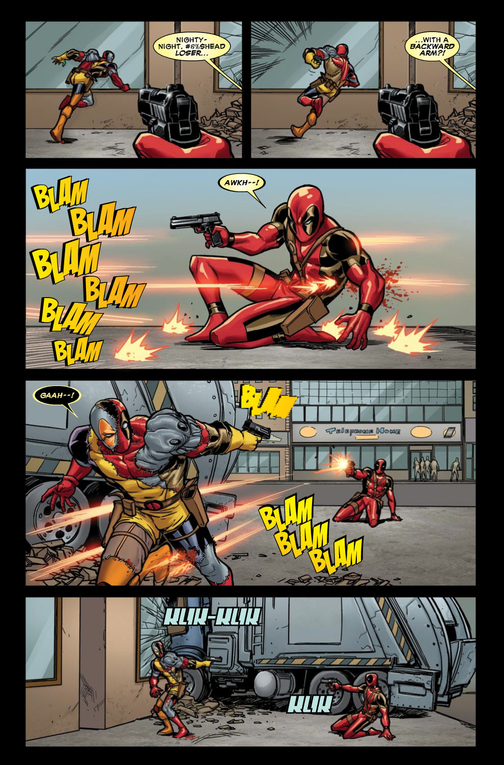 Read online Deadpool (2008) comic -  Issue #46 - 11