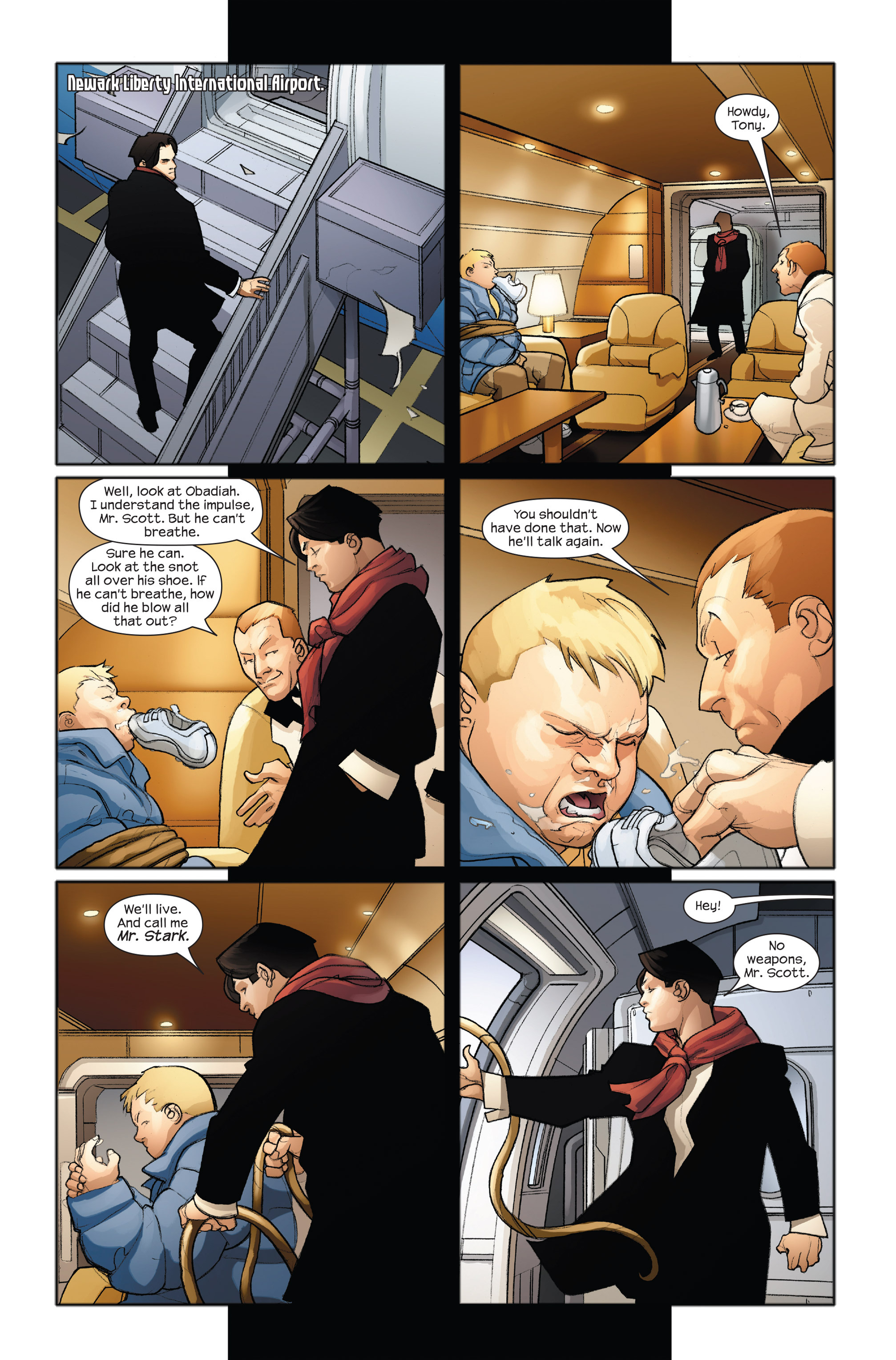 Read online Ultimate Iron Man II comic -  Issue #3 - 14