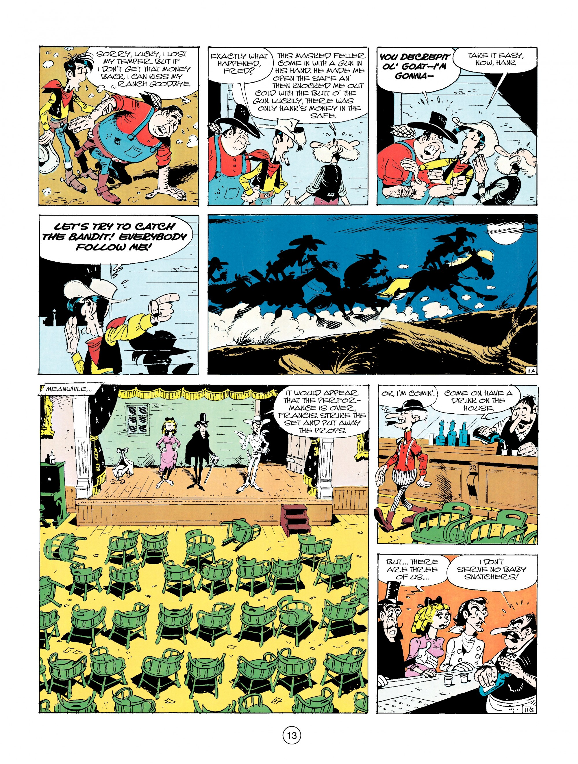 Read online A Lucky Luke Adventure comic -  Issue #14 - 13
