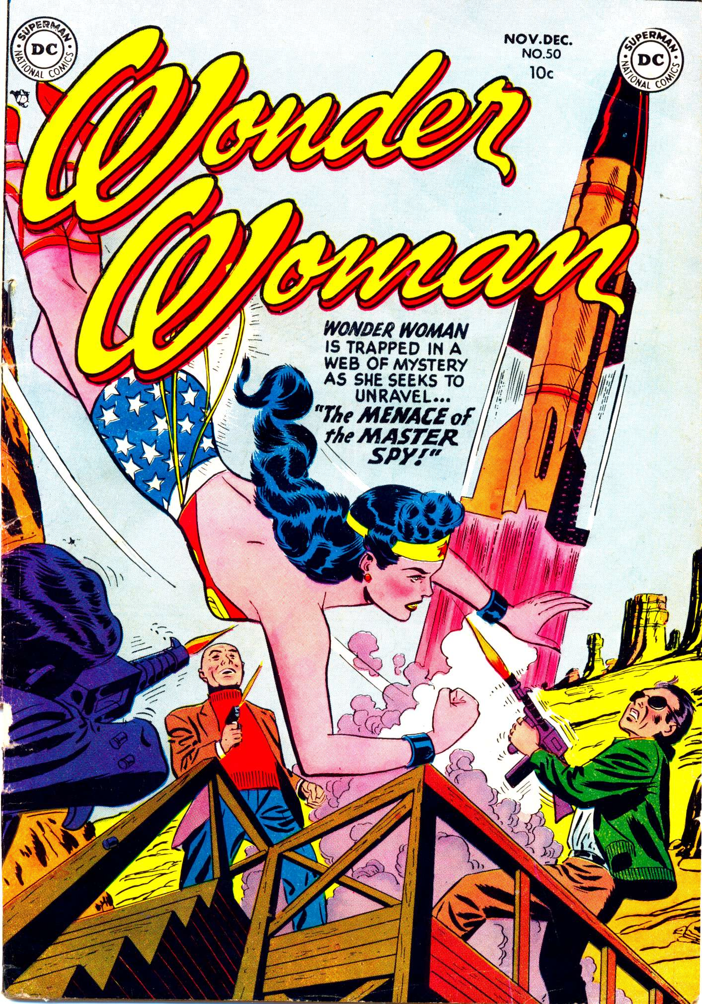Read online Wonder Woman (1942) comic -  Issue #50 - 1