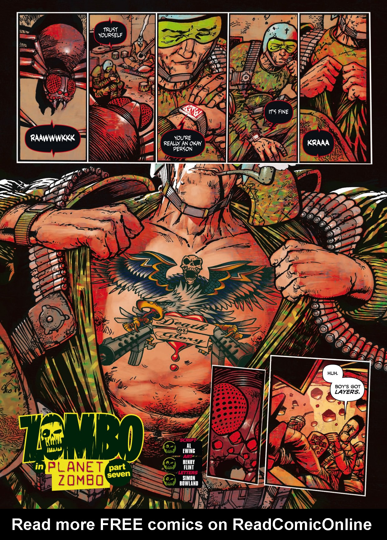 Read online 2000 AD comic -  Issue #1746 - 172