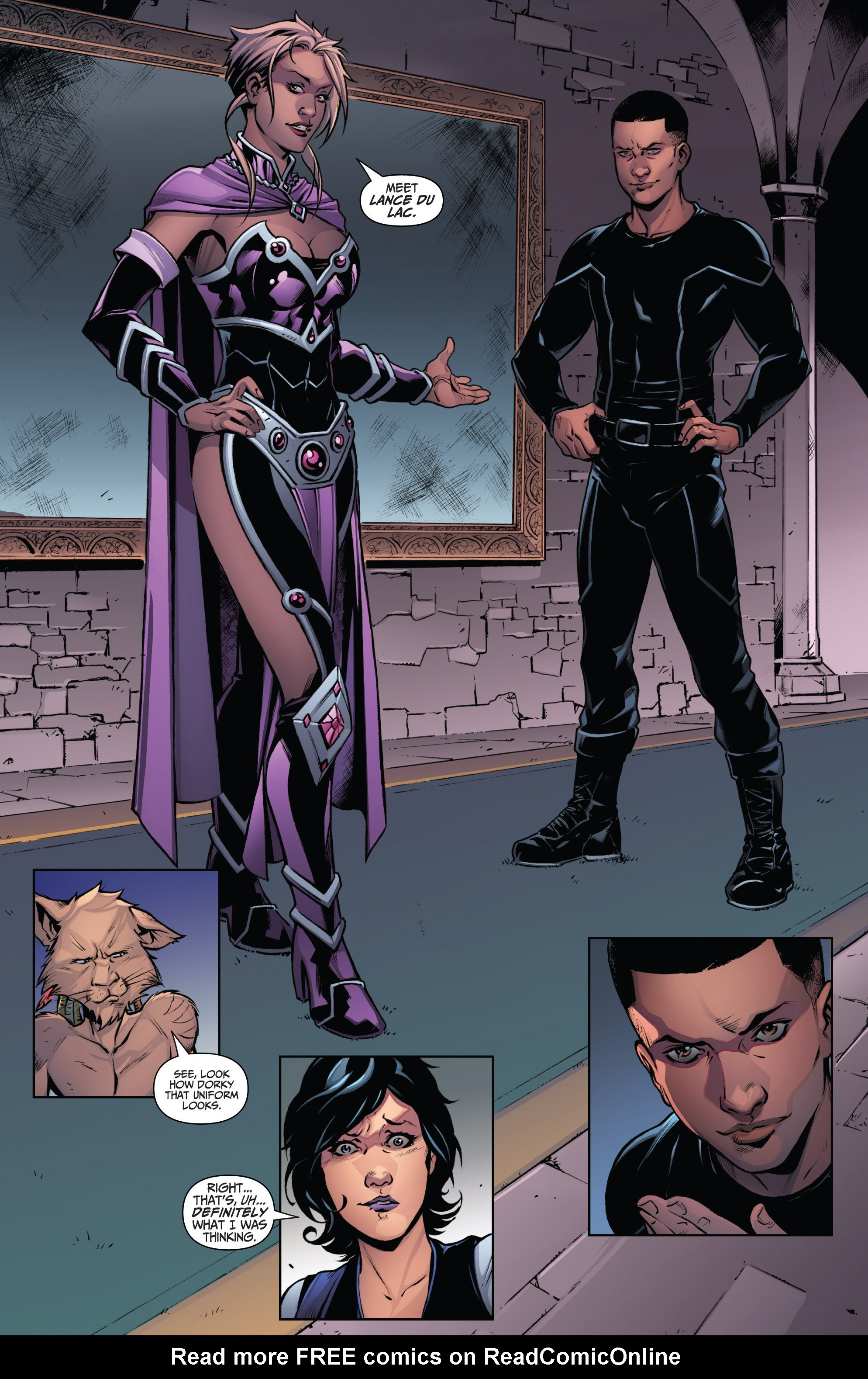 Read online Grimm Fairy Tales: Arcane Acre comic -  Issue # TPB 3 - 12