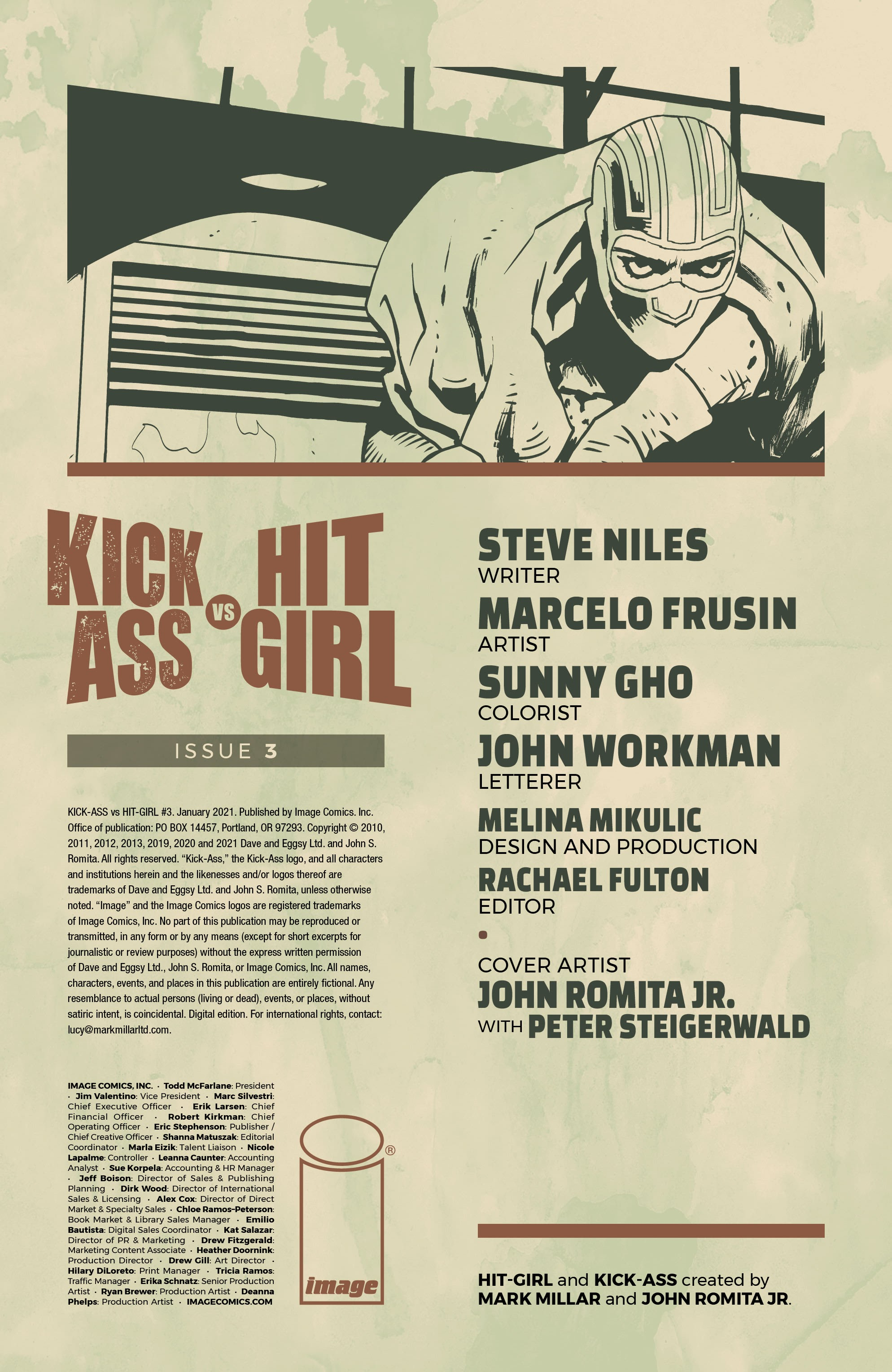 Kick-Ass Vs. Hit-Girl 3 Page 2