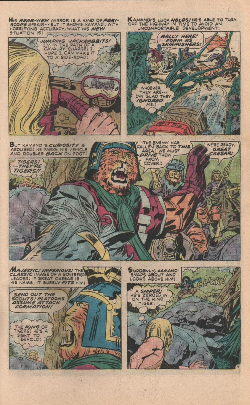 Kamandi, The Last Boy On Earth issue 32 - Page 42