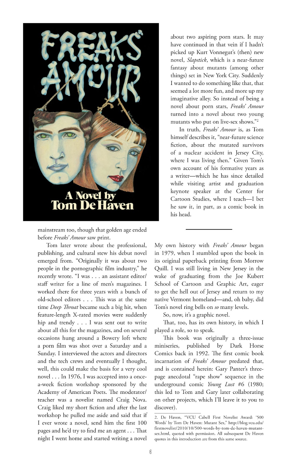 Read online Freaks' Amour comic -  Issue # TPB (Part 1) - 7