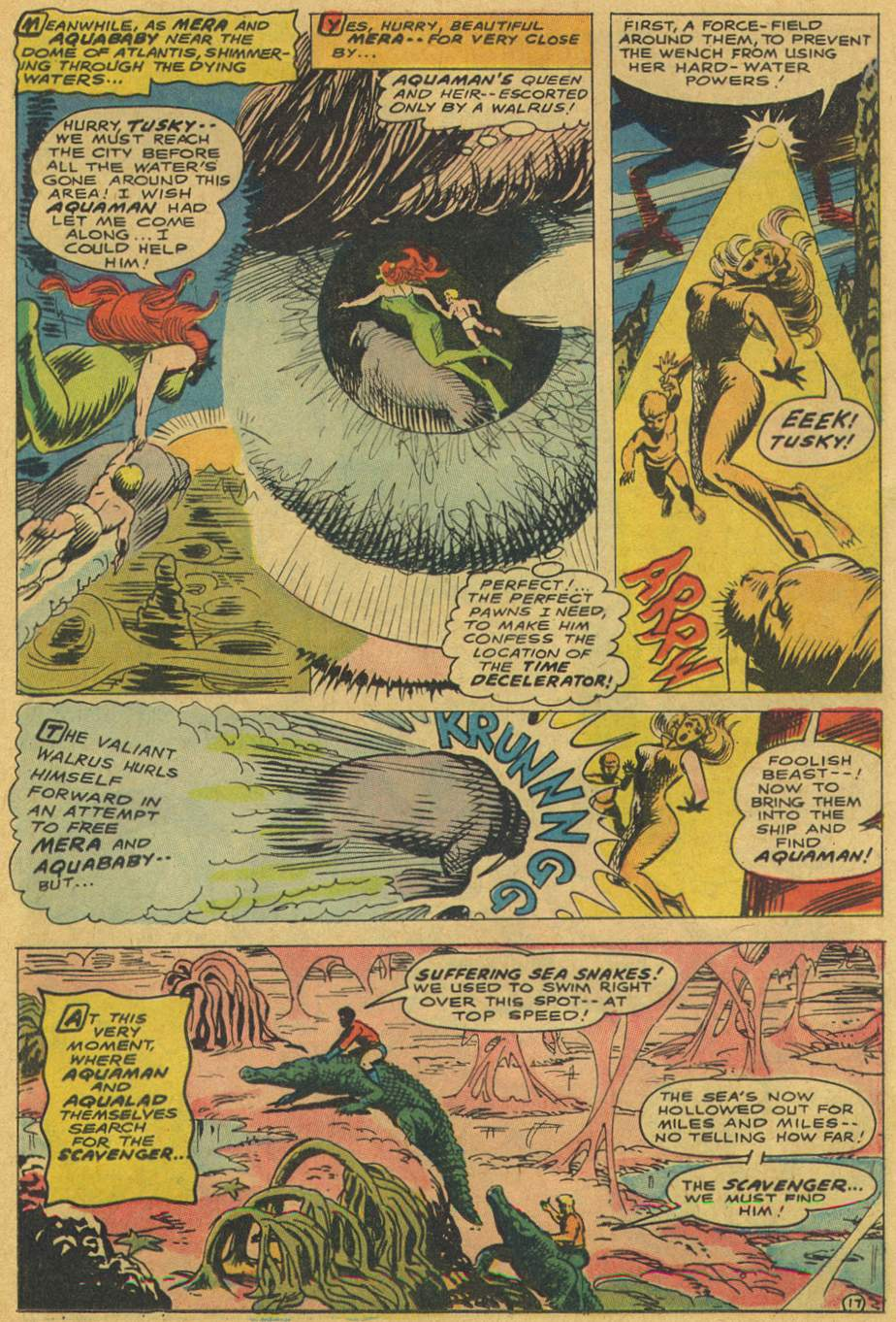 Read online Aquaman (1962) comic -  Issue #37 - 25