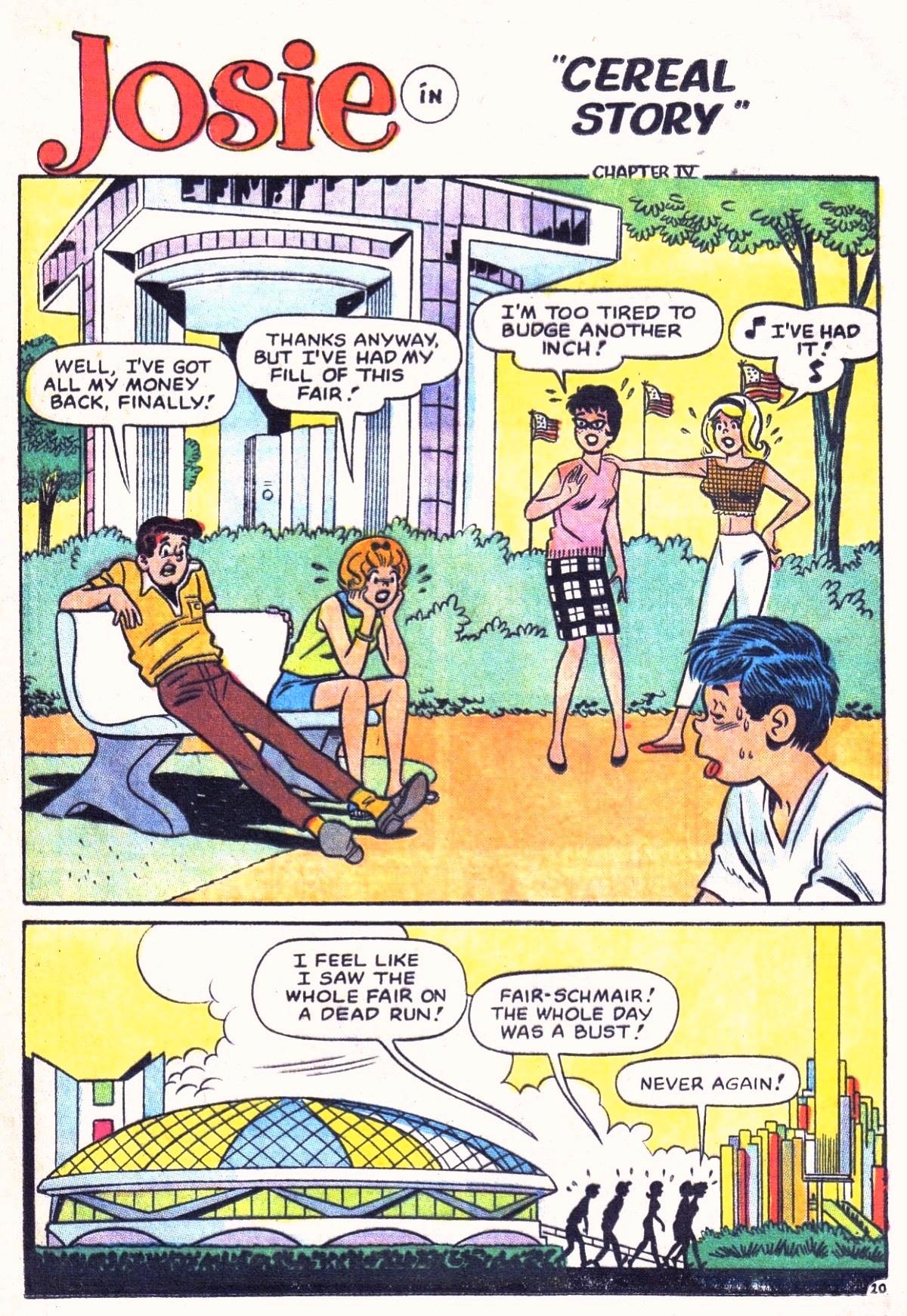 Read online She's Josie comic -  Issue #9 - 29
