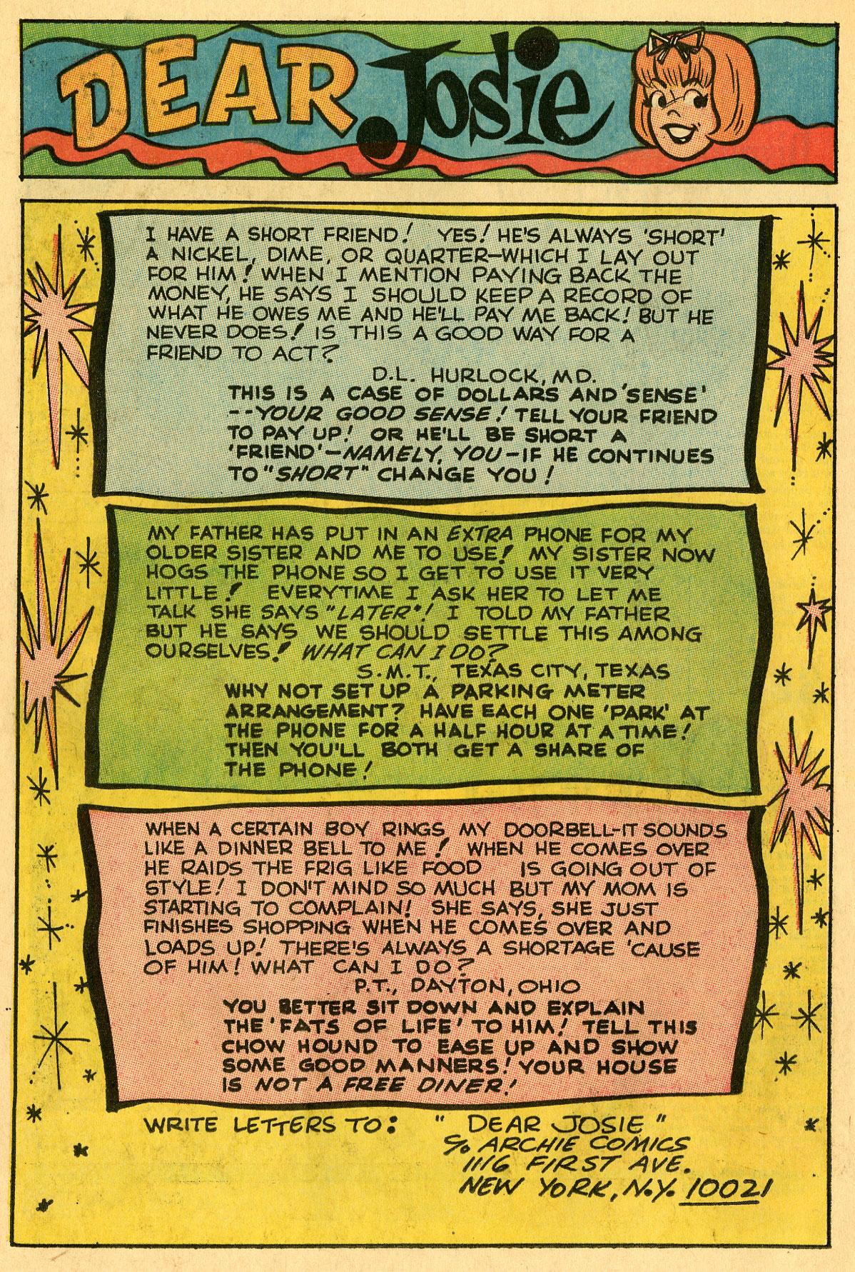 Read online She's Josie comic -  Issue #32 - 26