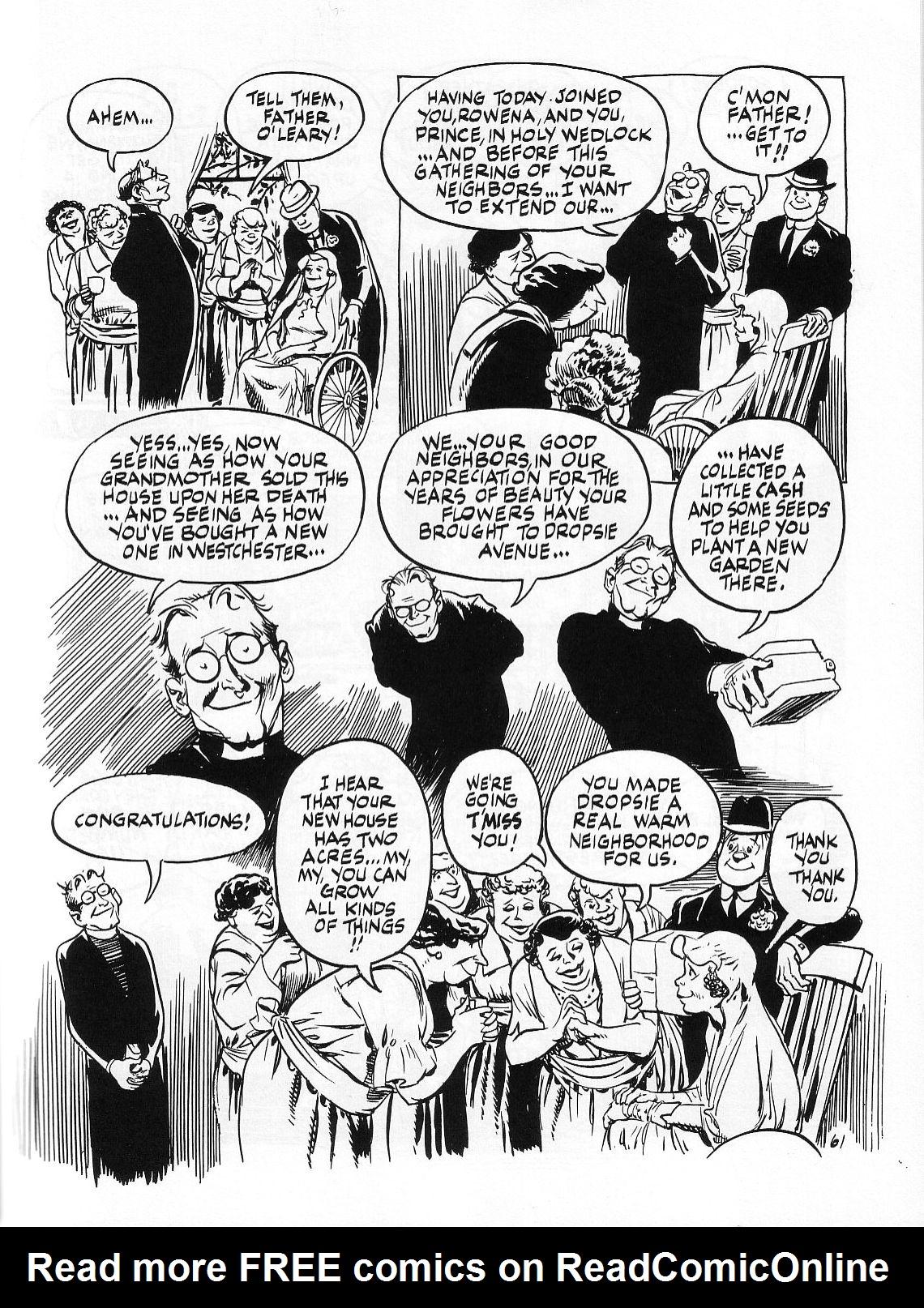 Read online Dropsie Avenue, The Neighborhood comic -  Issue # Full - 63