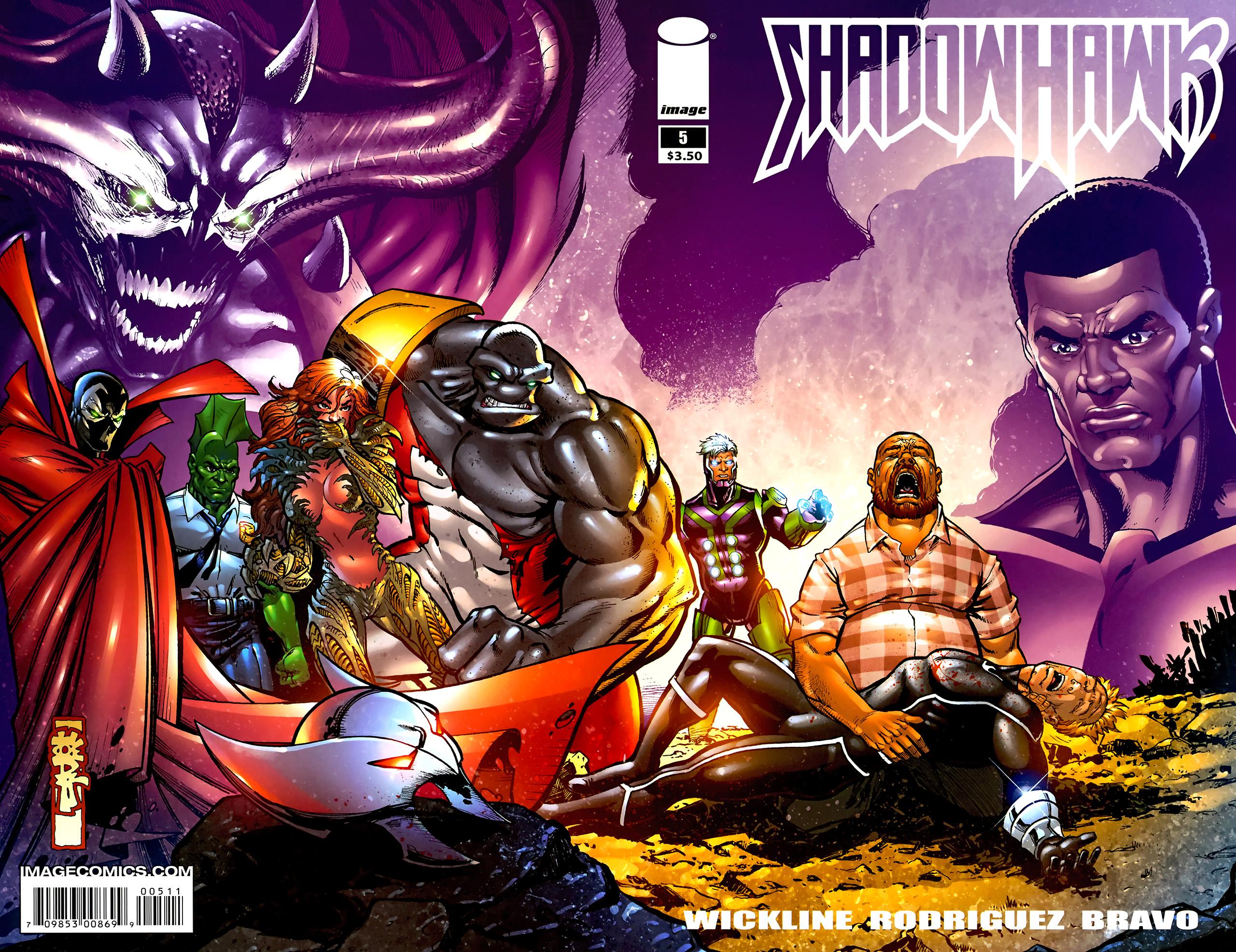 Read online ShadowHawk (2010) comic -  Issue #5 - 2
