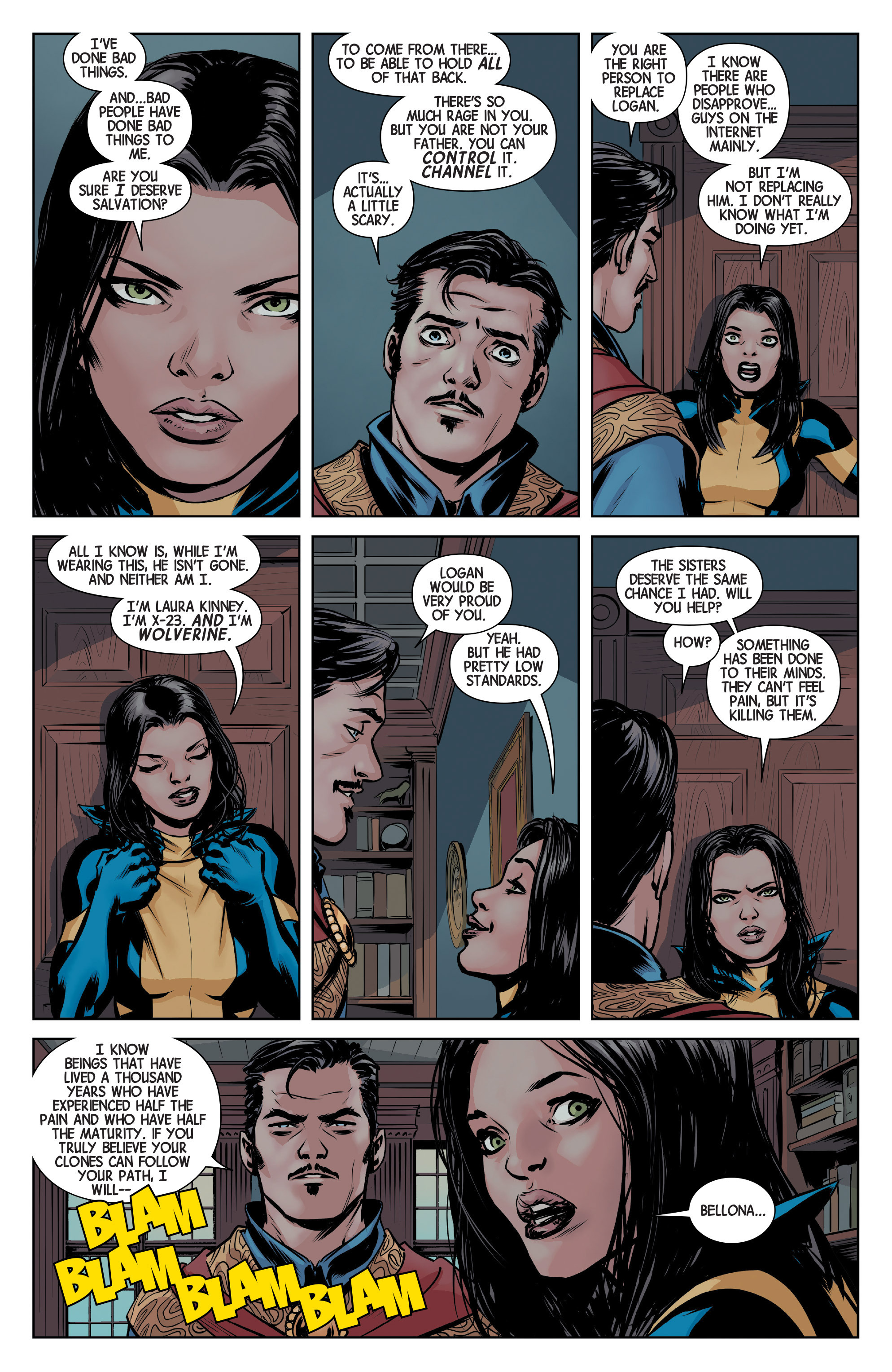 Read online All-New Wolverine (2016) comic -  Issue #4 - 8