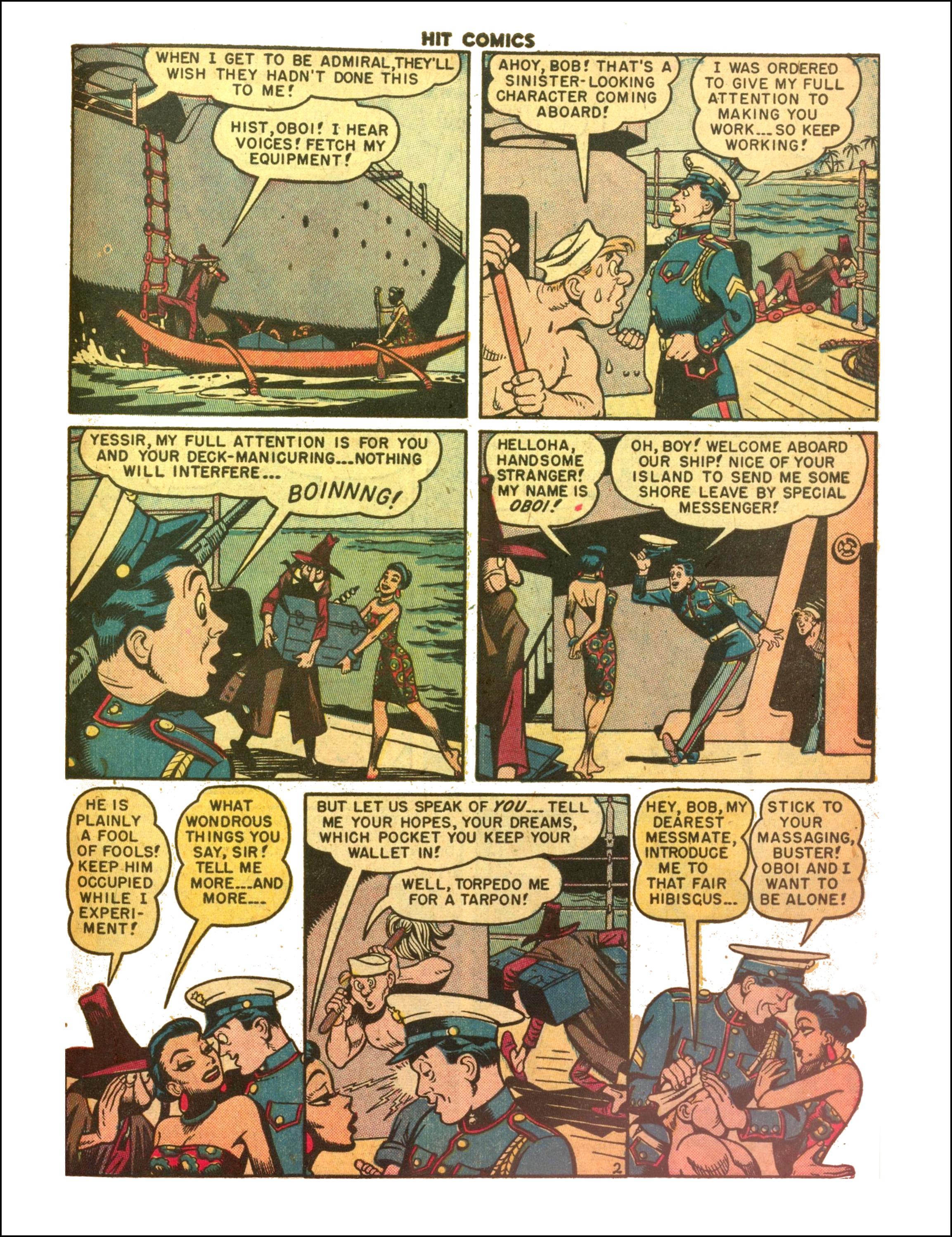 Read online Hit Comics comic -  Issue #65 - 23
