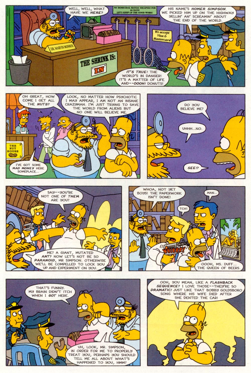 Read online Treehouse of Horror comic -  Issue #3 - 3
