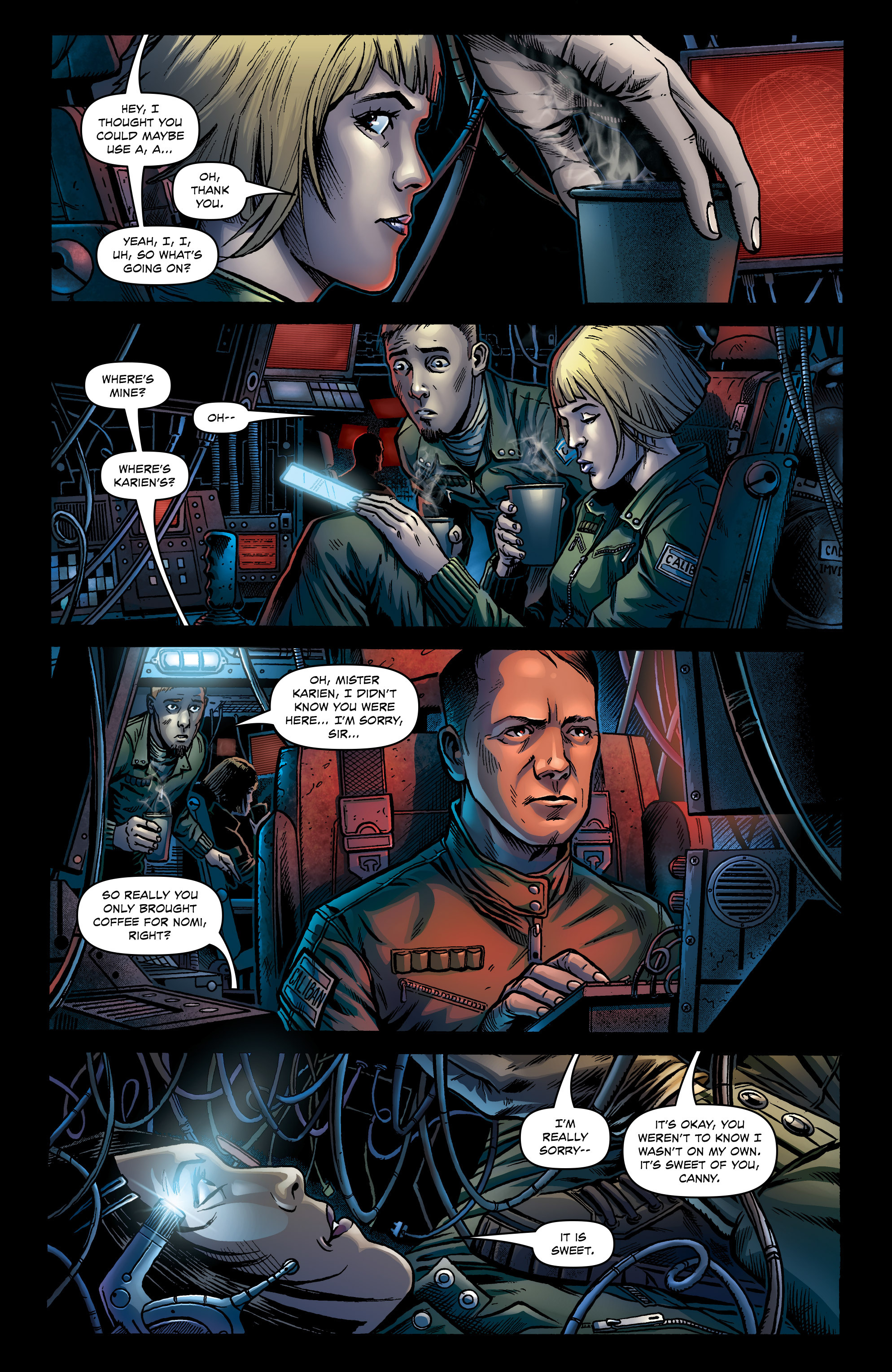 Read online Caliban comic -  Issue #1 - 10
