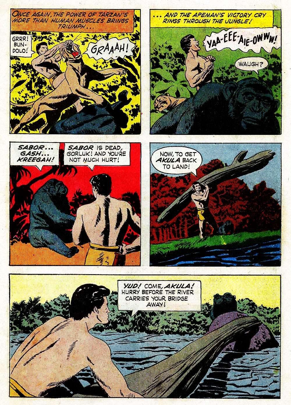 Tarzan (1962) issue 139 - Page 7