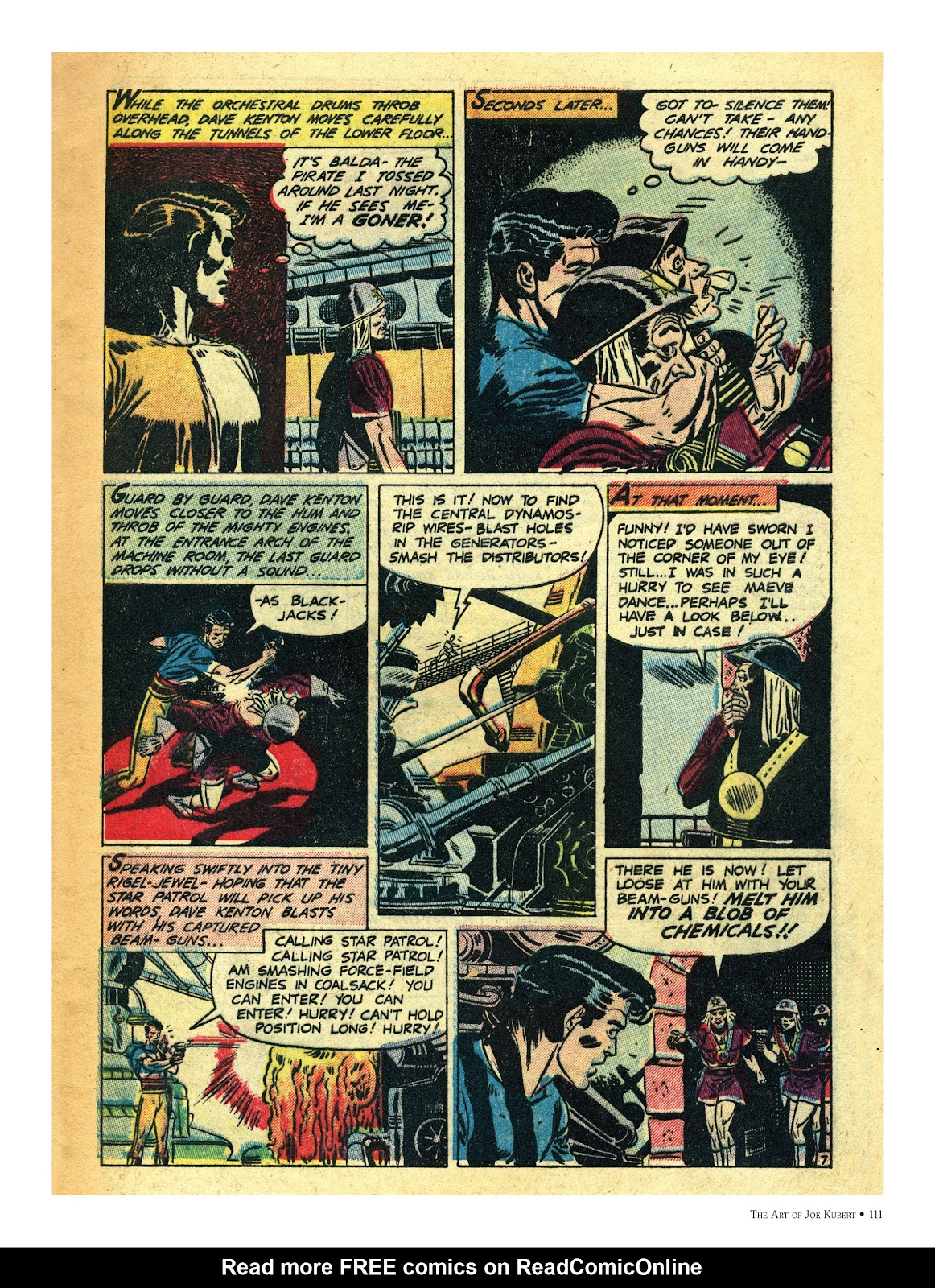 Read online The Art of Joe Kubert comic -  Issue # TPB (Part 2) - 11