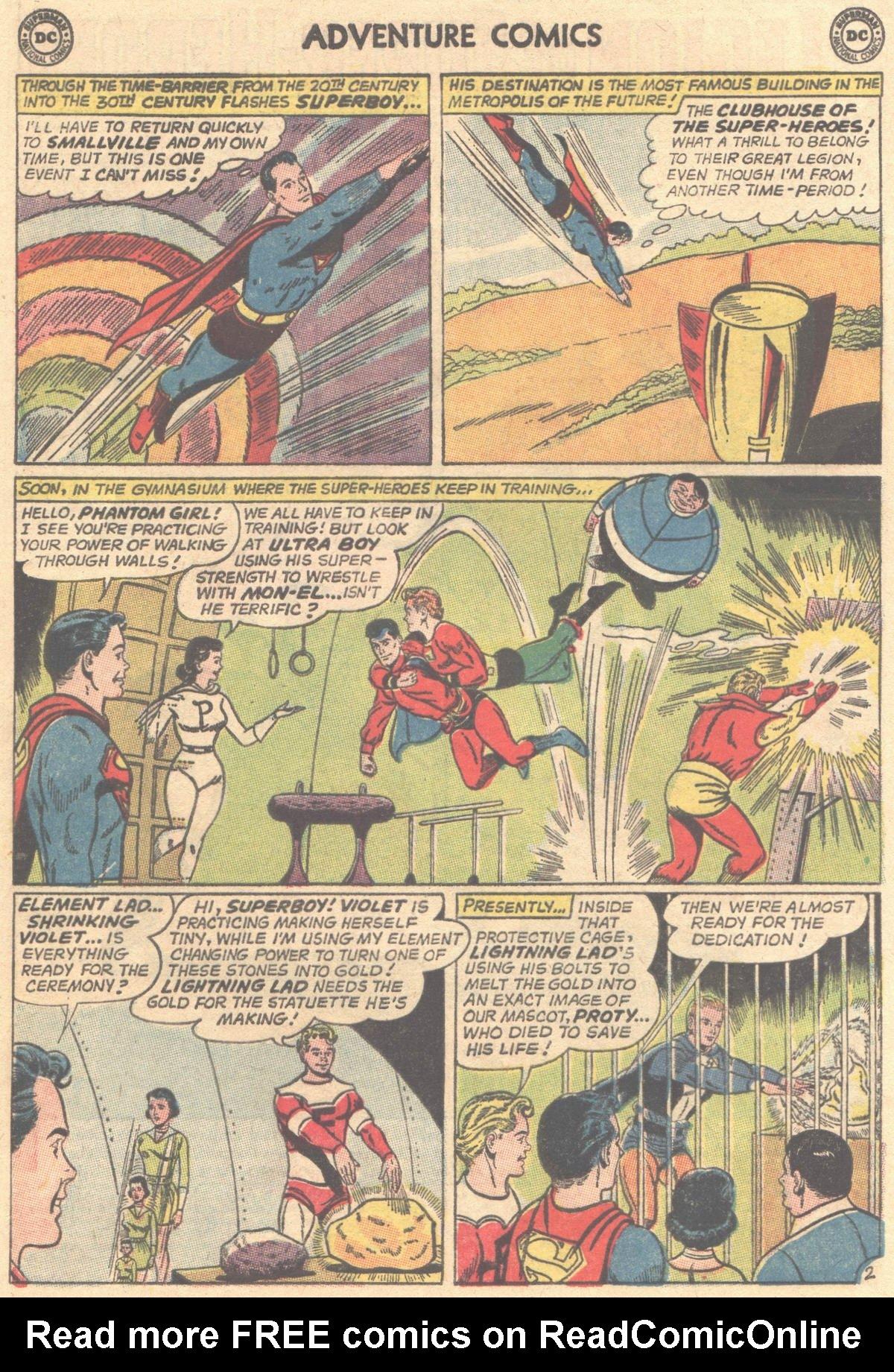 Read online Adventure Comics (1938) comic -  Issue #316 - 4