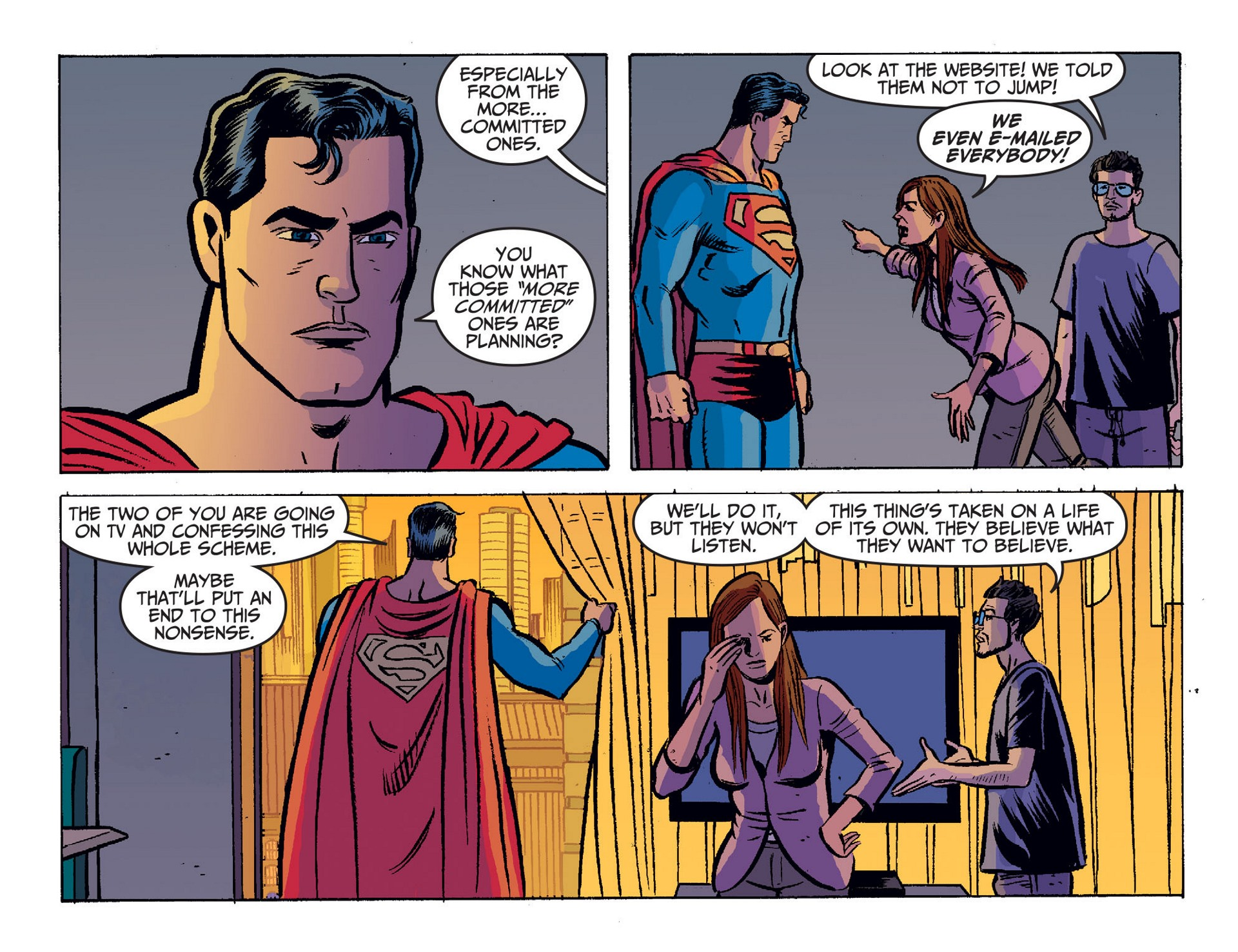 Read online Adventures of Superman [I] comic -  Issue #20 - 9