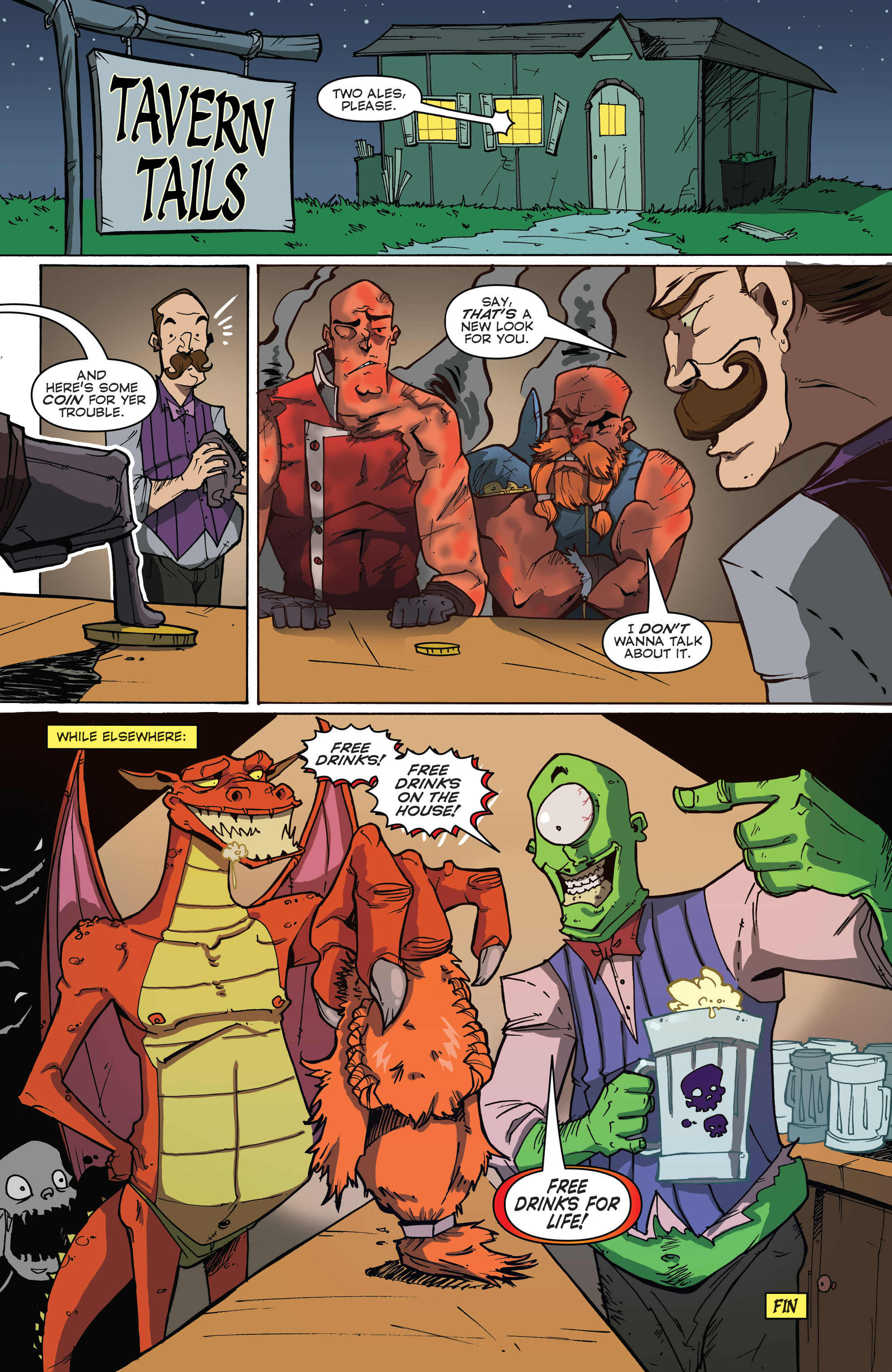 Read online Skullkickers comic -  Issue #18 - 30