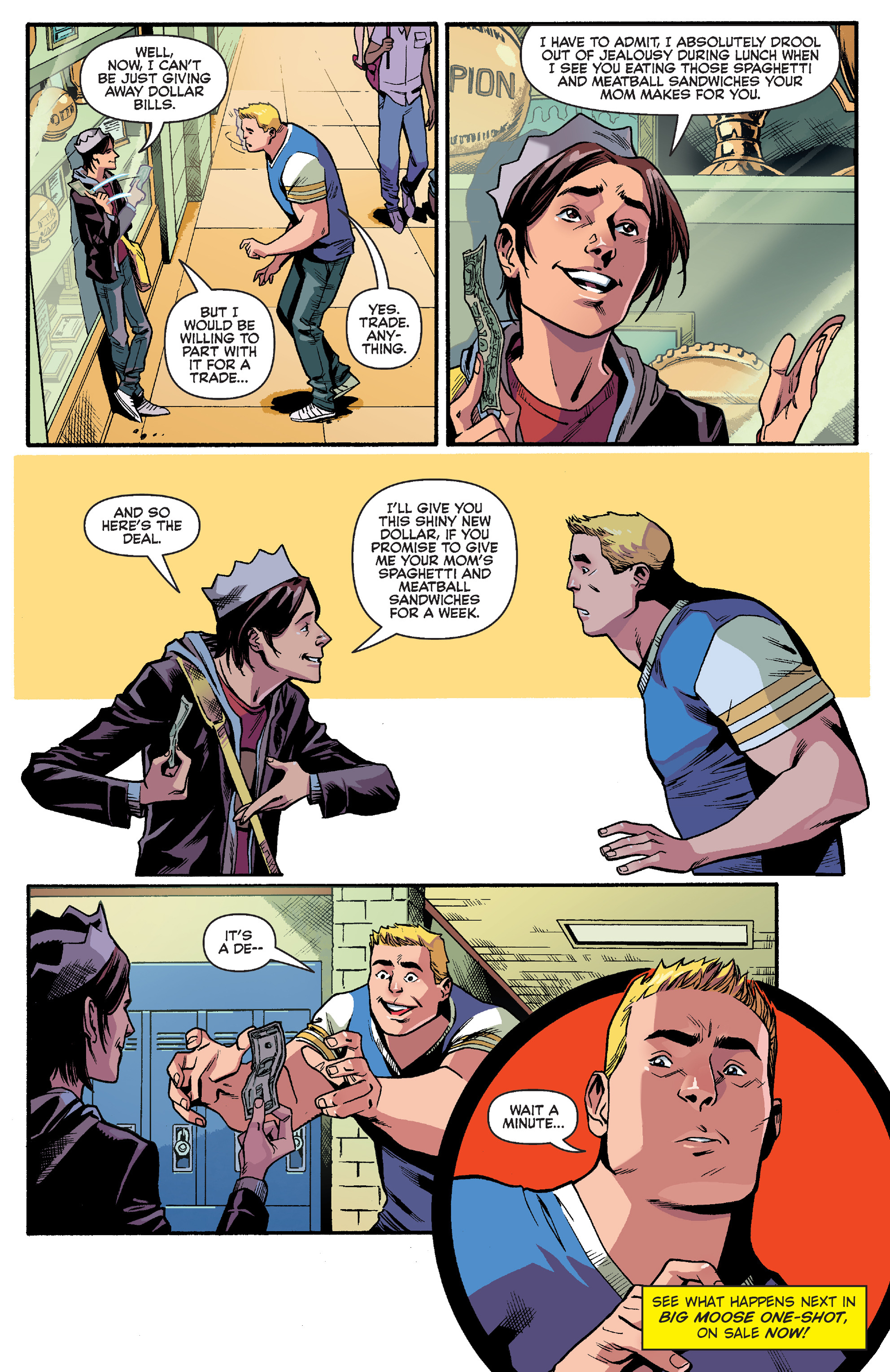 Read online Reggie and Me comic -  Issue #5 - 27