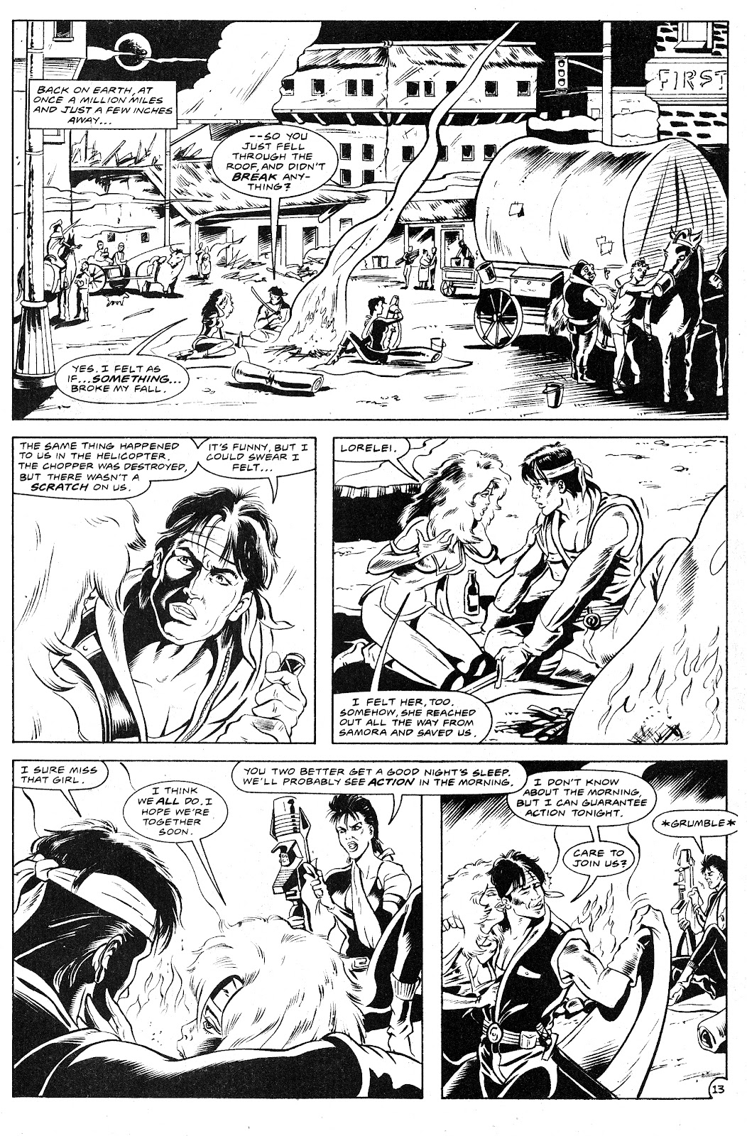Ex-Mutants: The Shattered Earth Chronicles issue 9 - Page 15